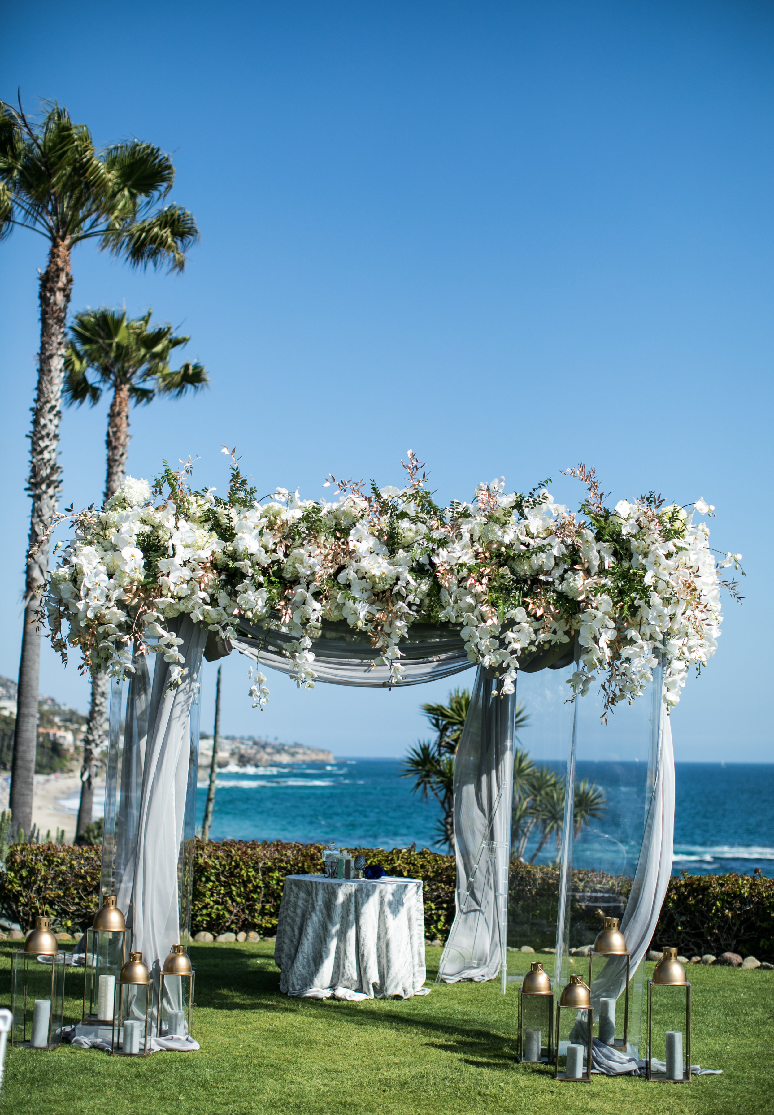 Ceremony Details - Laguna Beach, California - Summer Wedding - Julian Leaver Events