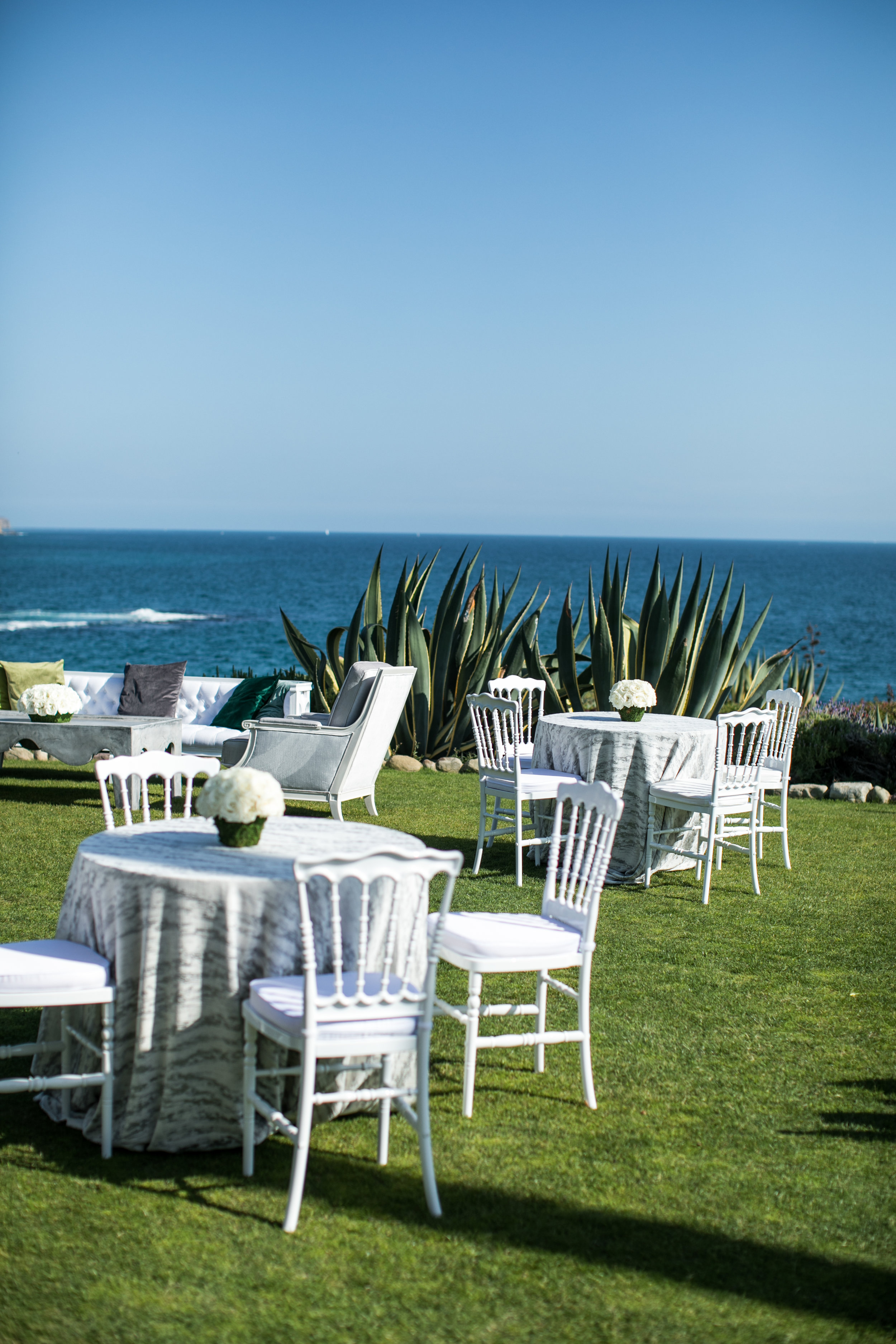 Cocktail Hour Details - Laguna Beach, California - Summer Wedding - Julian Leaver Events