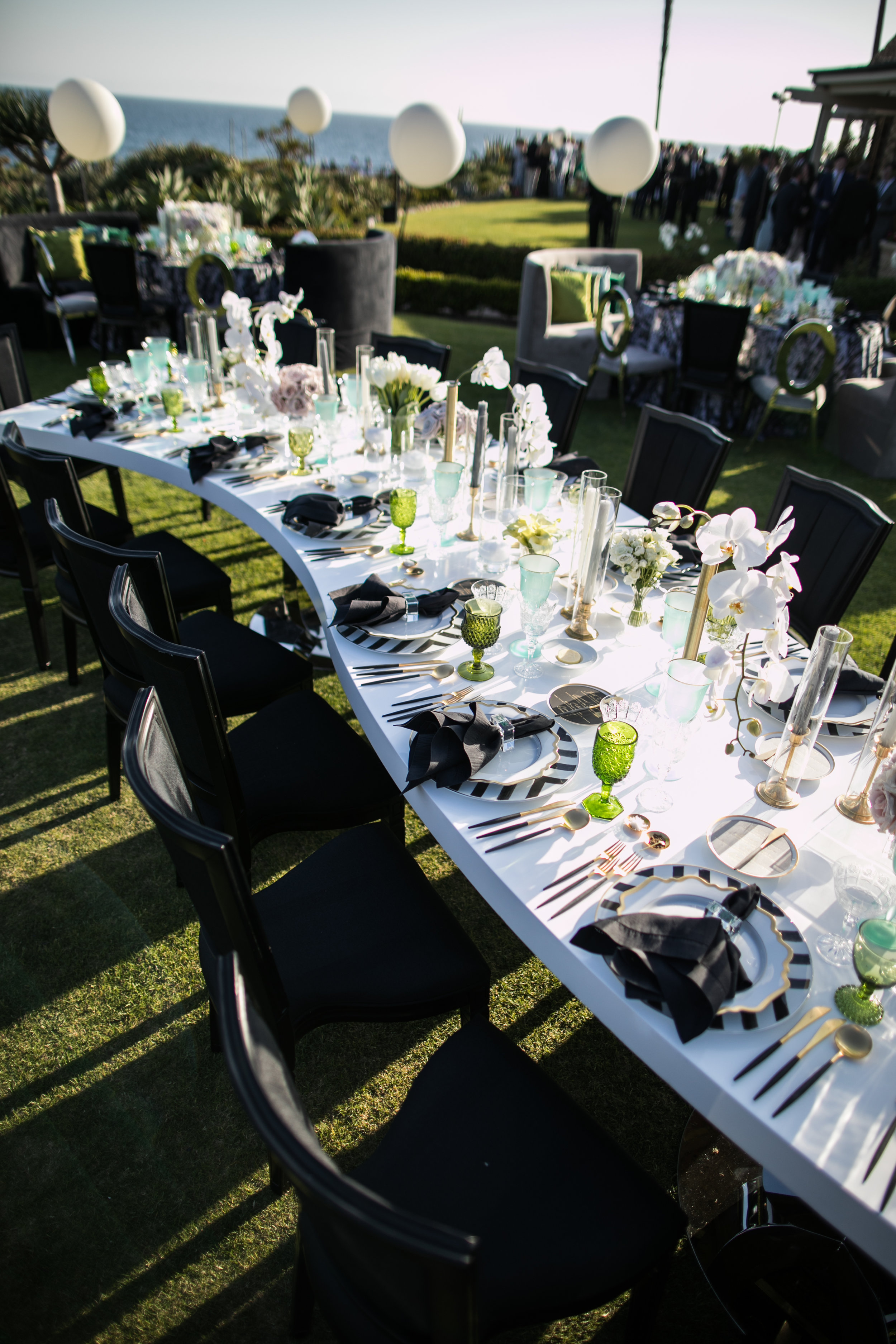Wedding Reception Details - Laguna Beach, California - Summer Wedding - Julian Leaver Events