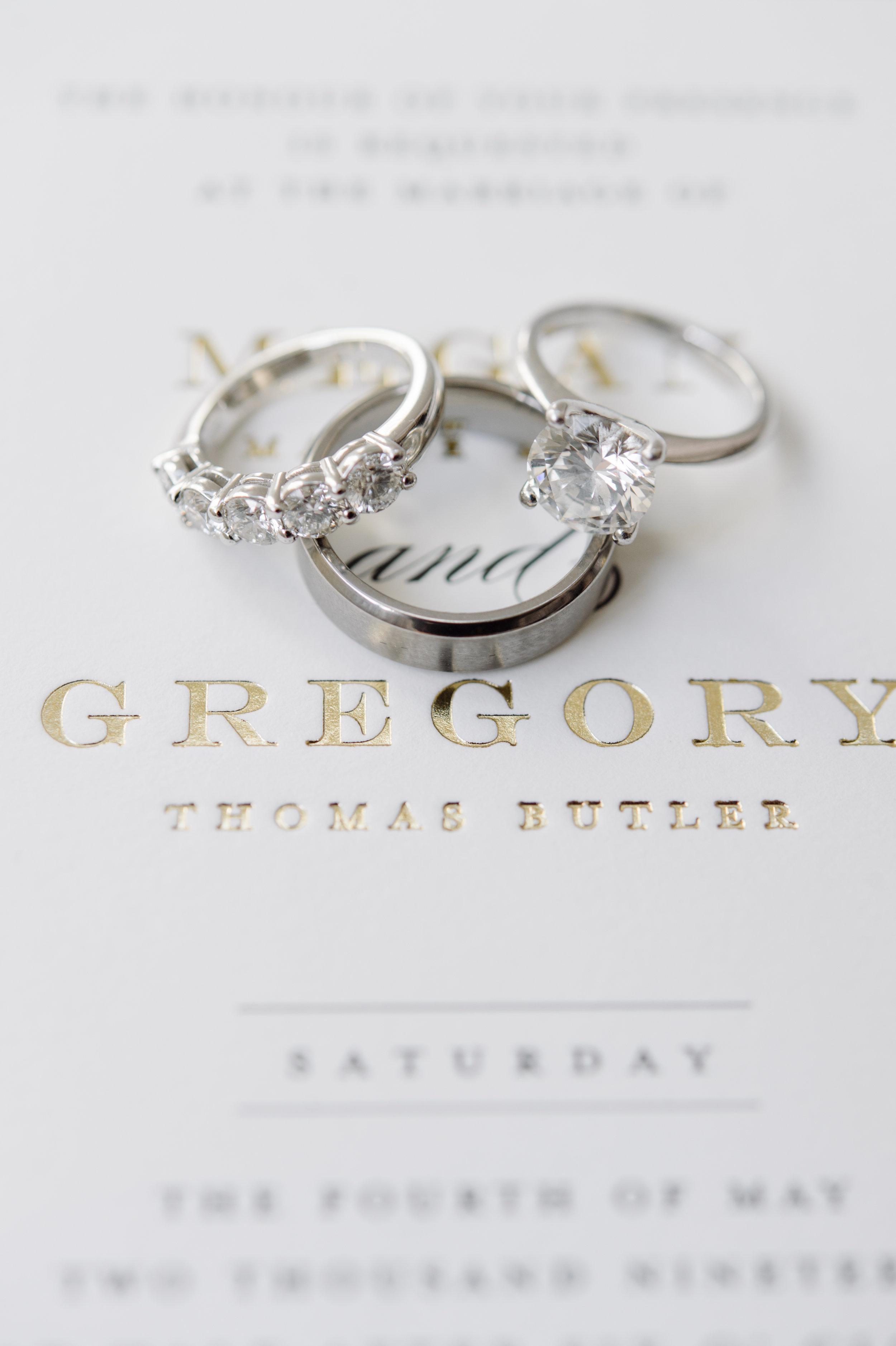 Stationery Details - Dallas, Texas -Spring Wedding - Julian Leaver Events