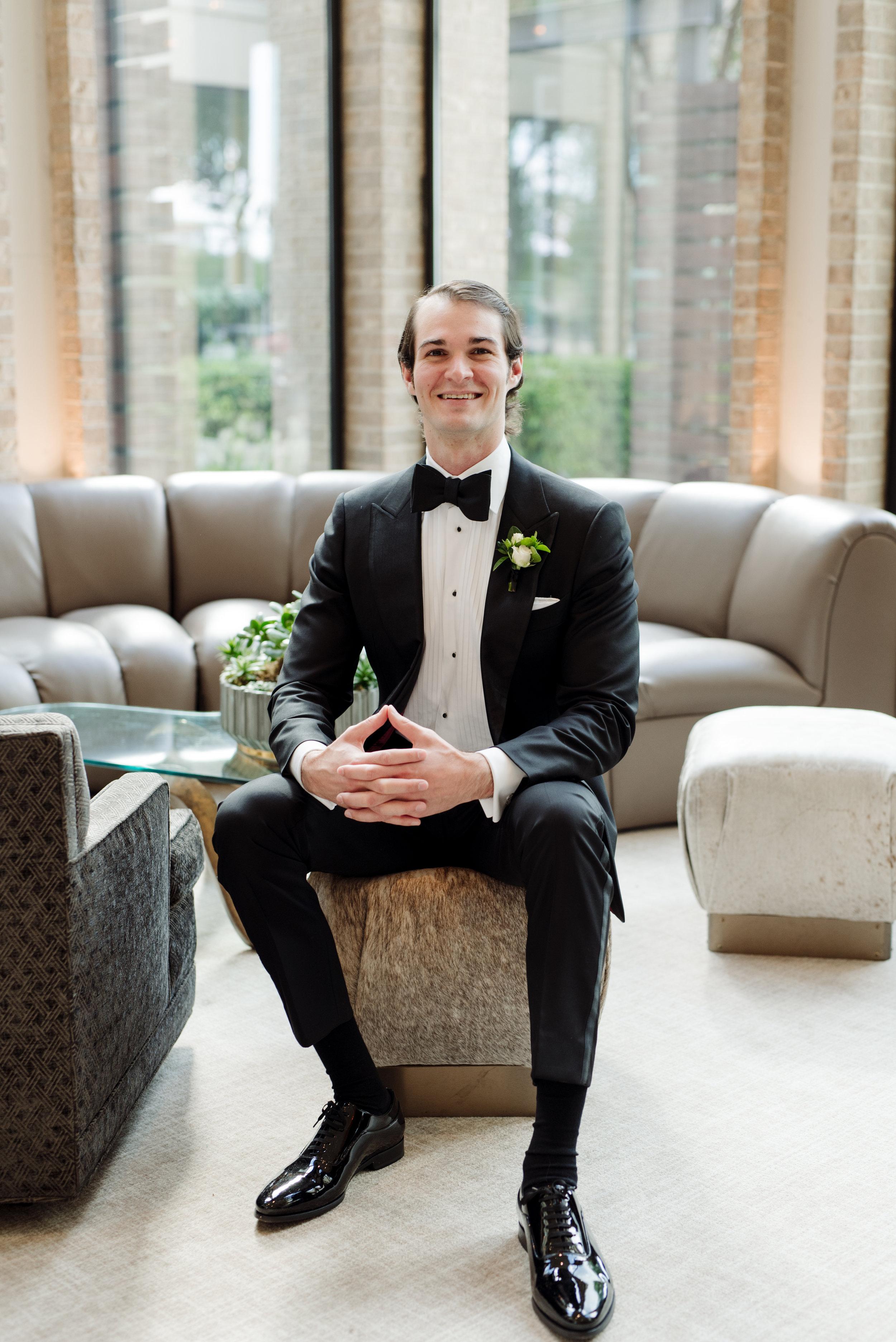 Groom Details - Dallas, Texas -Spring Wedding - Julian Leaver Events