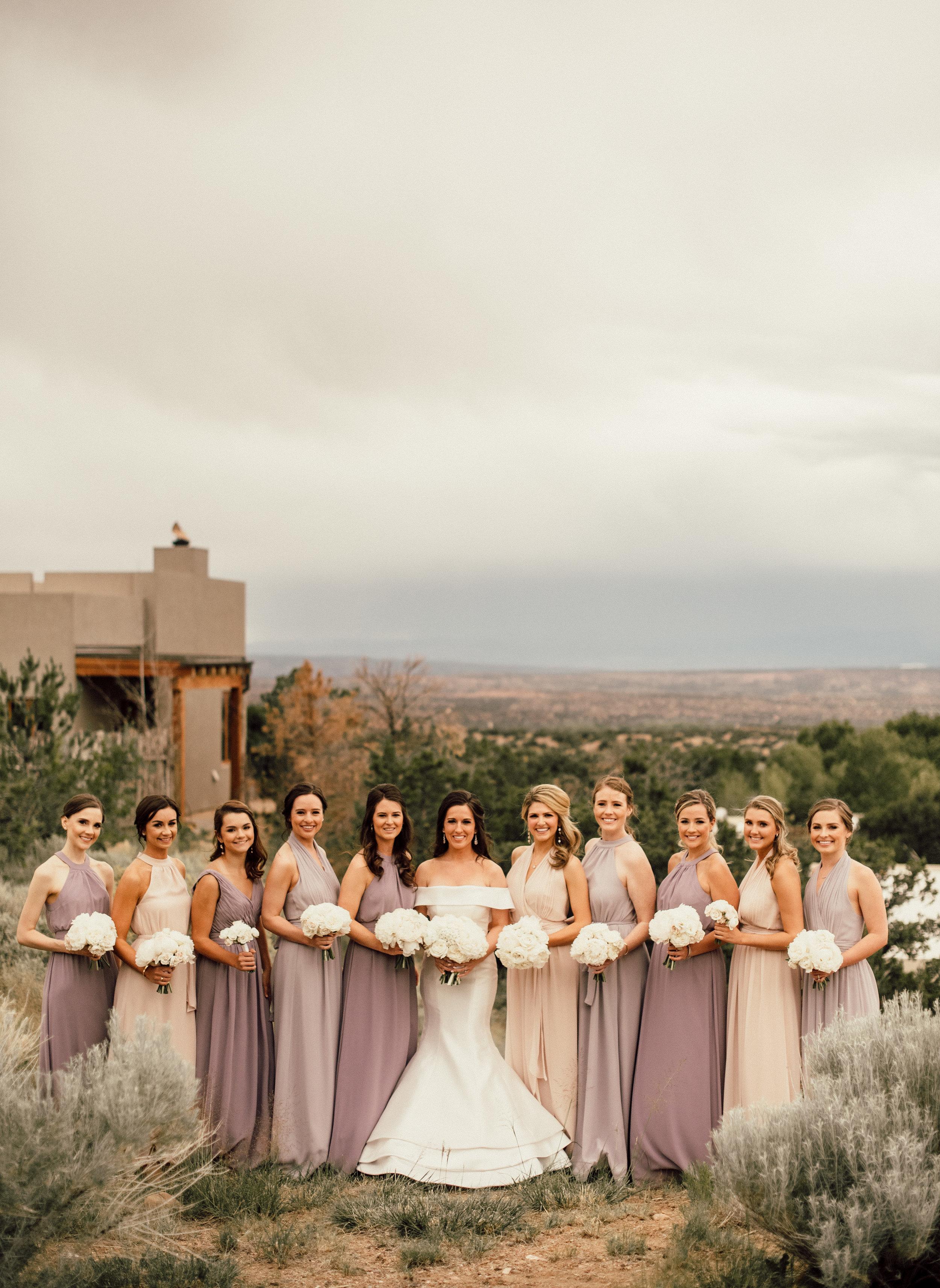 Bridesmaid Details - Santa Fe, New Mexico - Summer Wedding - Julian Leaver Events