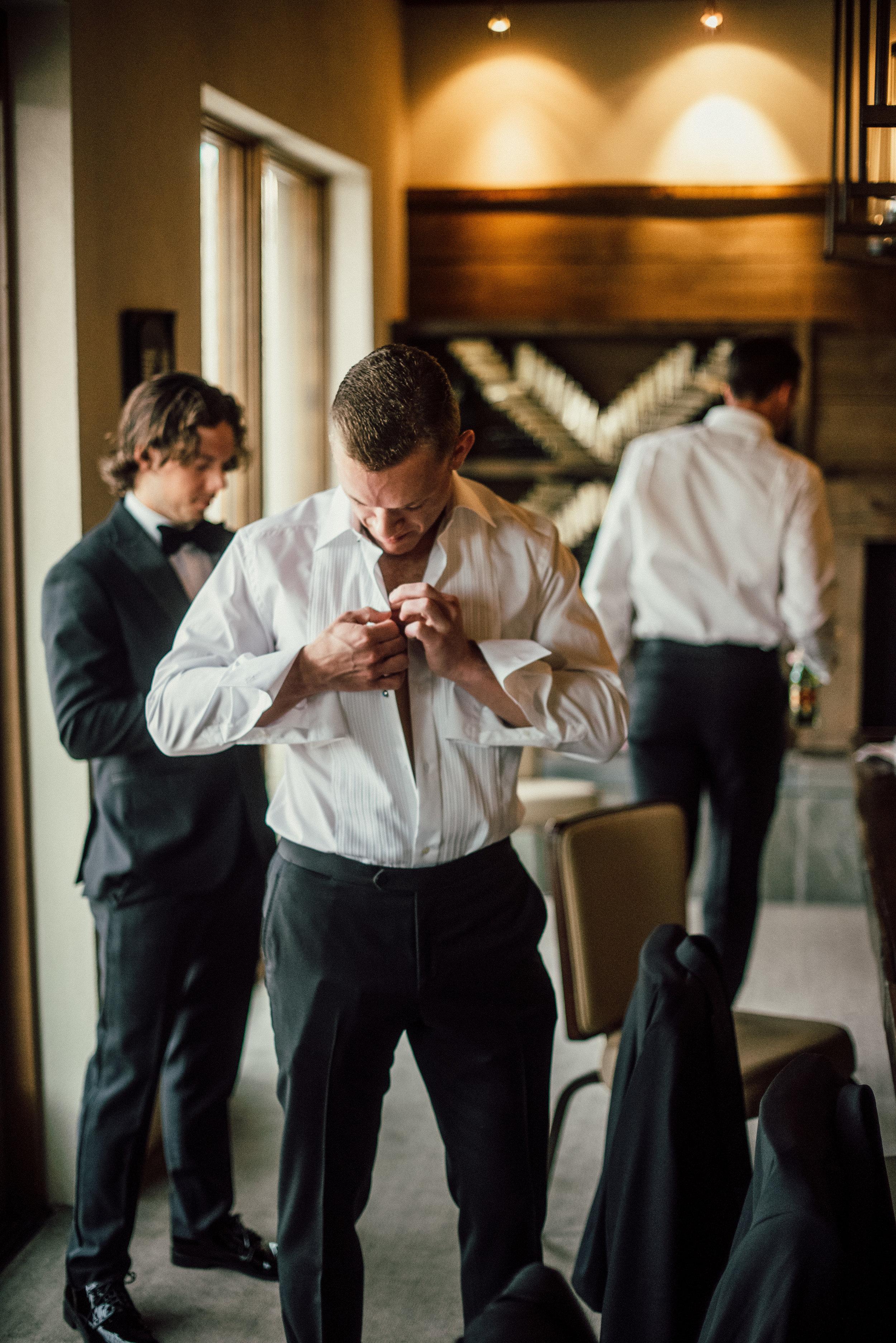 Groom Details - Santa Fe, New Mexico - Summer Wedding - Julian Leaver Events