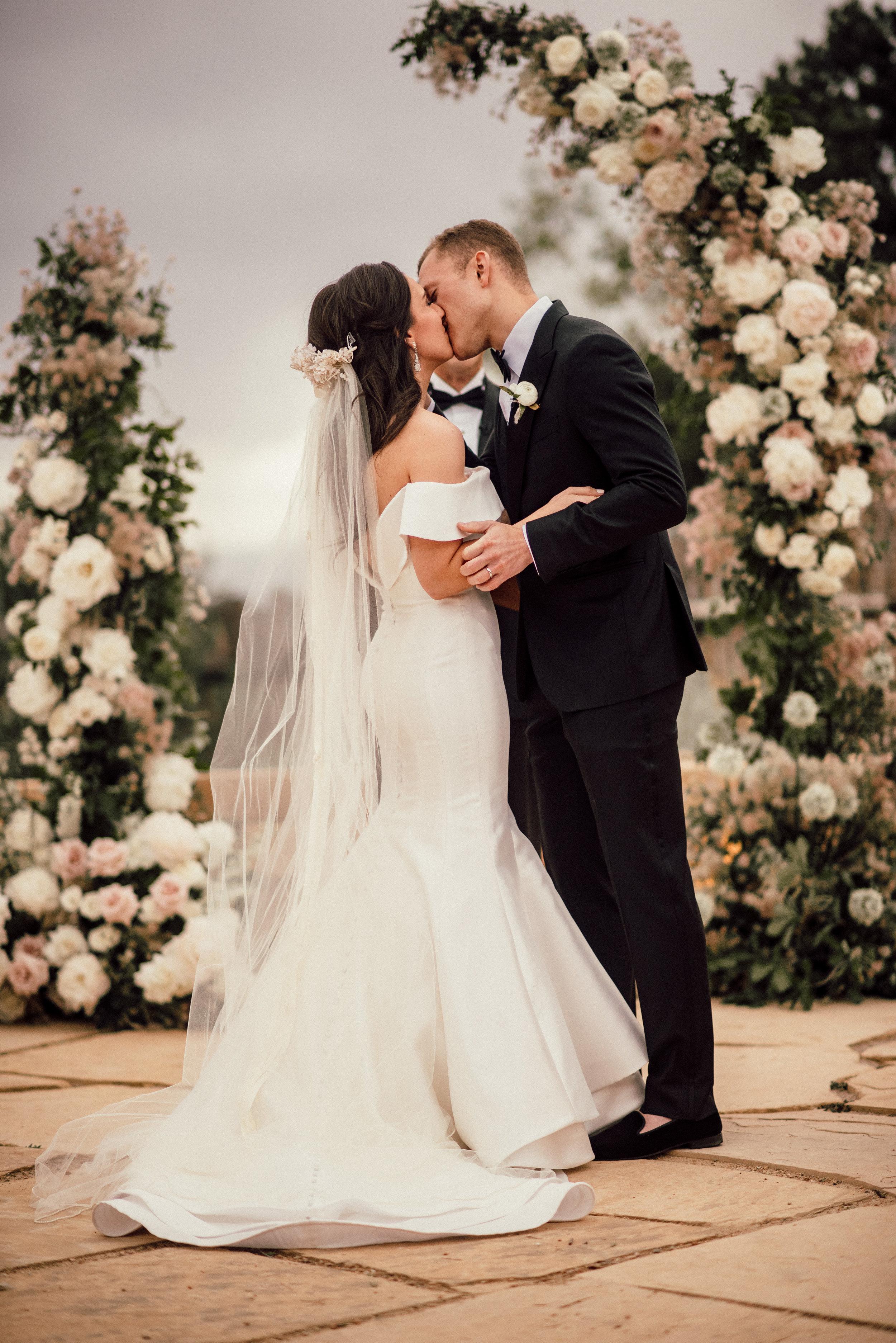Ceremony Details - Santa Fe, New Mexico - Summer Wedding - Julian Leaver Events
