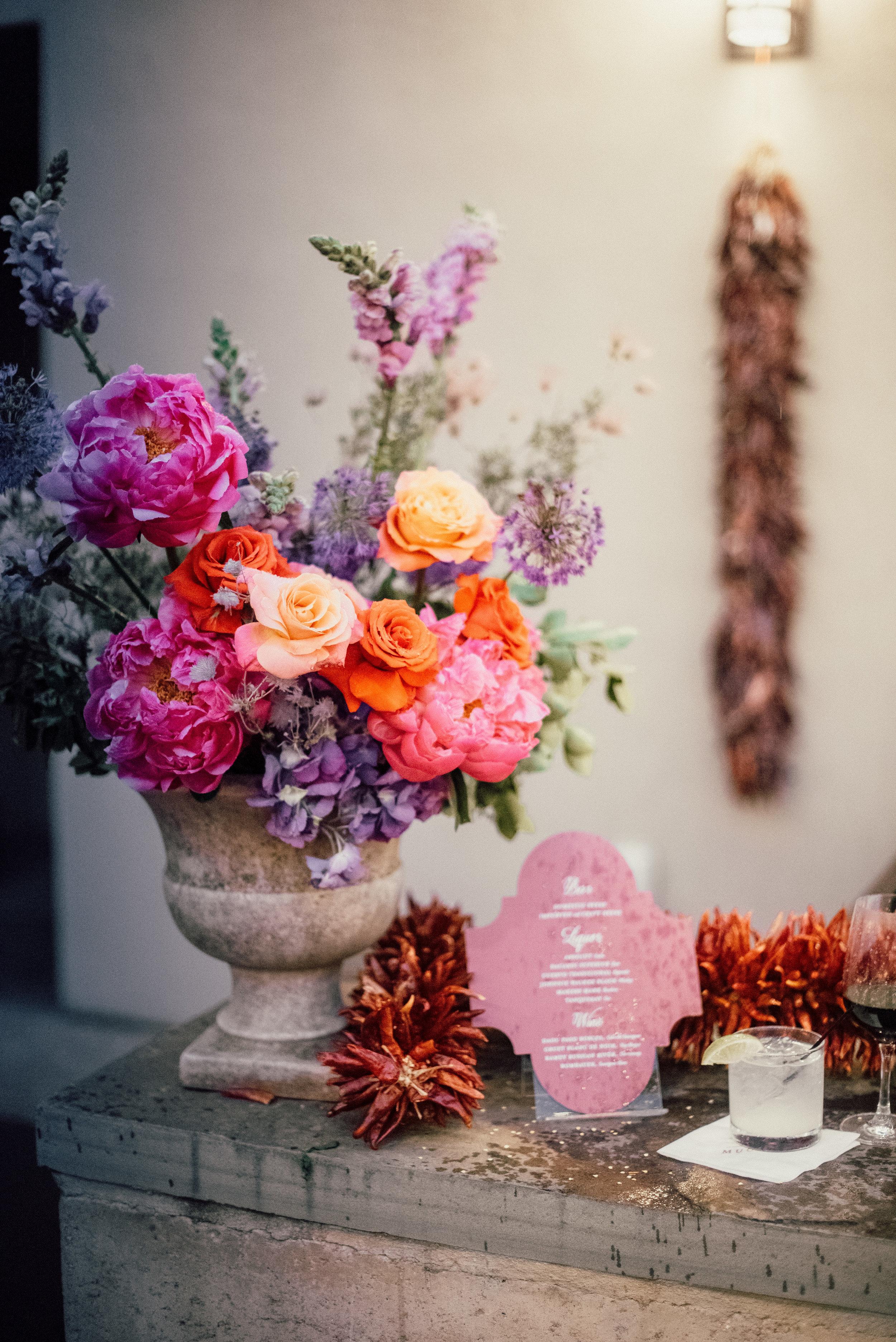 Wedding Reception Details - Santa Fe, New Mexico - Summer Wedding - Julian Leaver Events