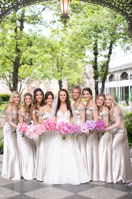 Bridesmaids Details - Dallas, Texas - Spring Wedding - Julian Leaver Events