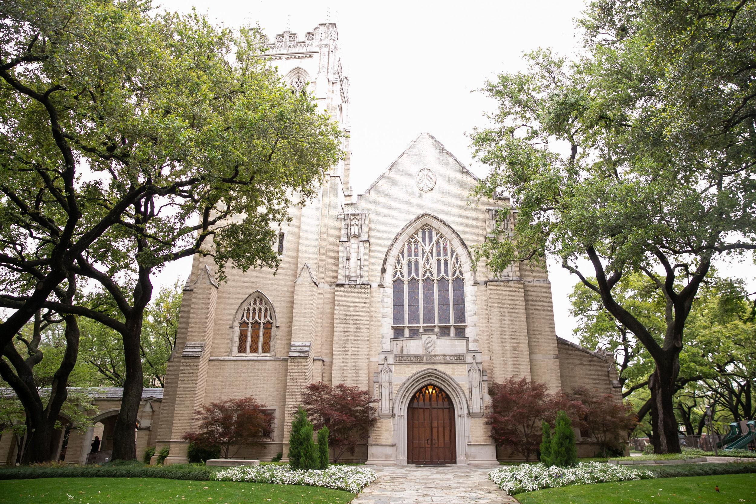 Church Details - Dallas, Texas - Spring Wedding - Julian Leaver Events