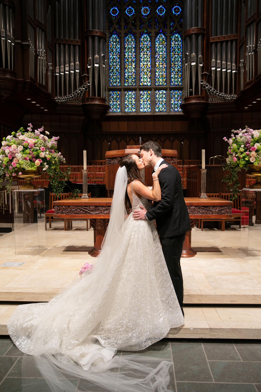 Wedding Ceremony Details - Dallas, Texas - Spring Wedding - Julian Leaver Events