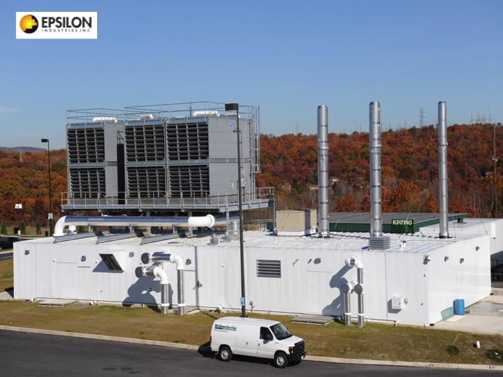 2,800 Ton Prefabricated Central Utility Plant Fully Assembled