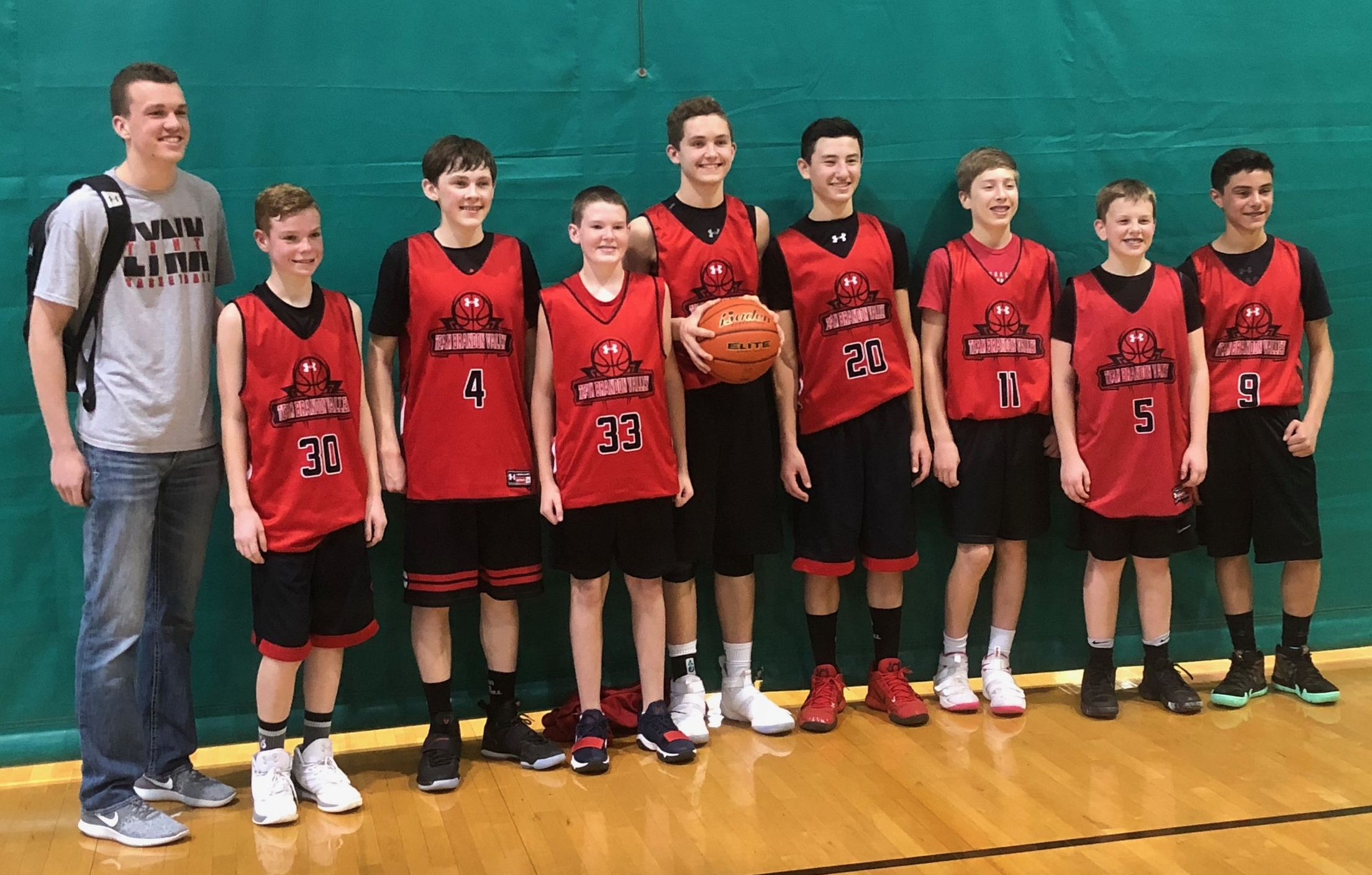 These Team Brandon Valley 8th graders battled their way to first place in Omaha last weekend.
