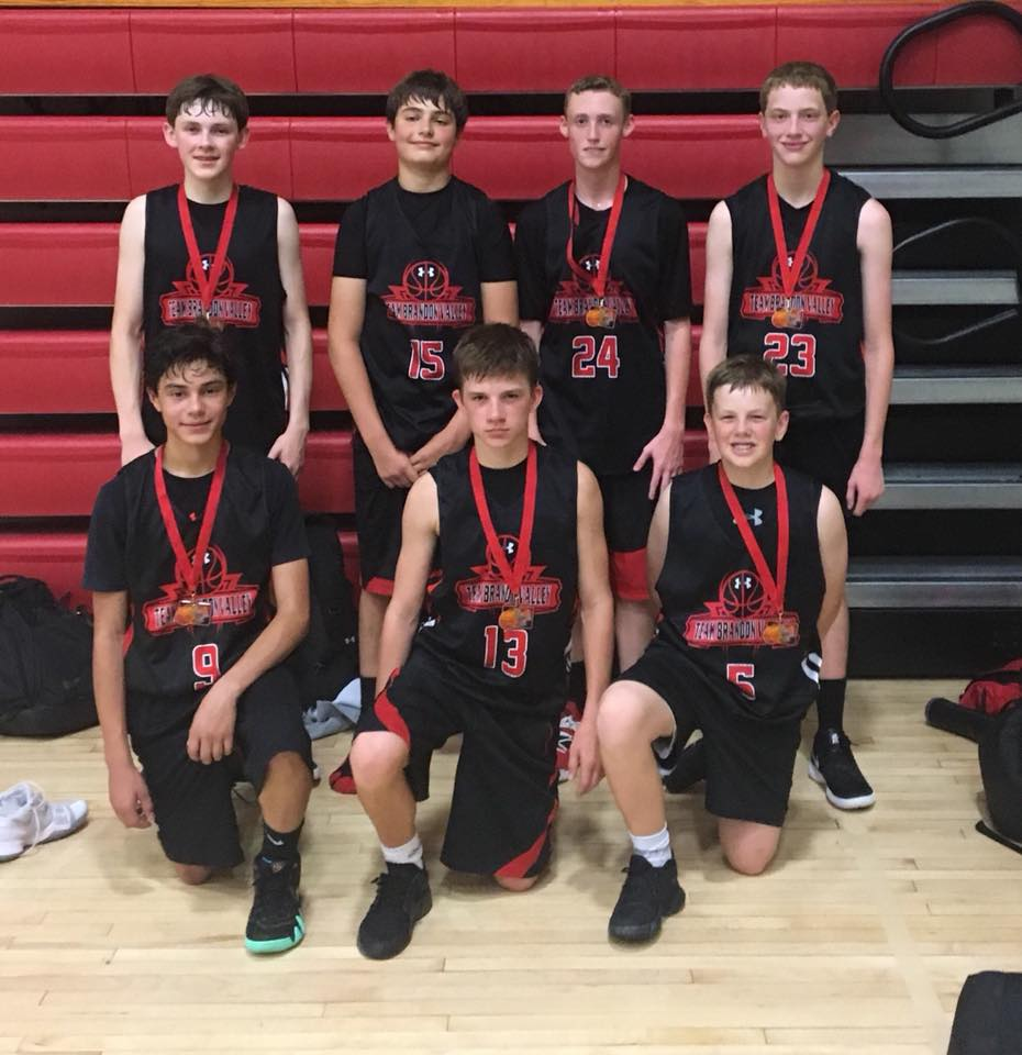The 14U team dribbled their way into the championship round and earned 2nd place.