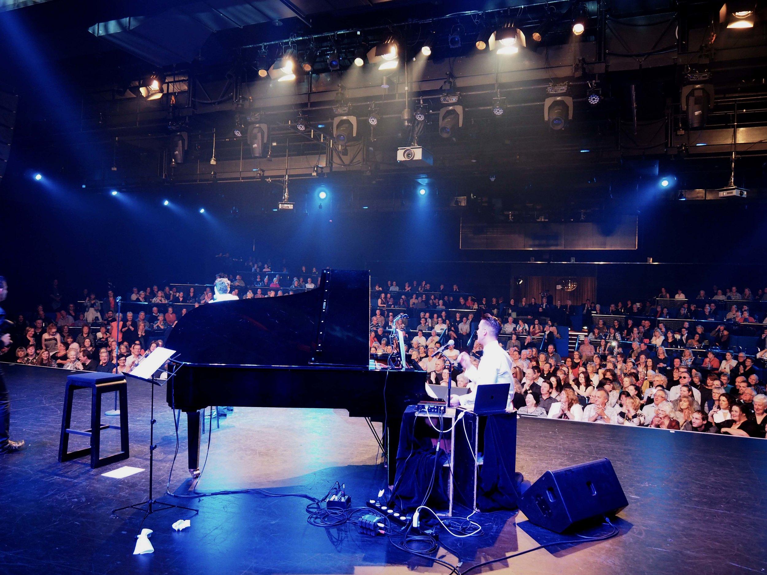 Josh Needham is touring Australia with  Harrison Craig- Kings Of Vegas Tour