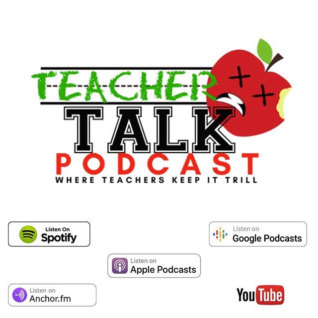 "Have y'all checked out @teachingittrill's podcast Teacher Talk?! I recently listened to it and have been hooked! This podcast is much needed!! It includes REAL TALK about education issues, straight up no fluff! It is hosted by Detroit educator (born and raised) Torie Anderson and she brings in guests to discuss topics that need to be discussed while keeping it all the way trill! Be on the lookout for upcoming episodes: ""From Student ID to Inmate ID: How Urban Schools Feed the School to Prison Pipeline"" and ""Curriculum So White : Exploring the Impact of Whitewashed Curriculum and Pedagogy"". I've linked her podcast to my stories, you can also follow at @teachingittrill !! You can thank me later! By the way her shirt is available on her website!!"