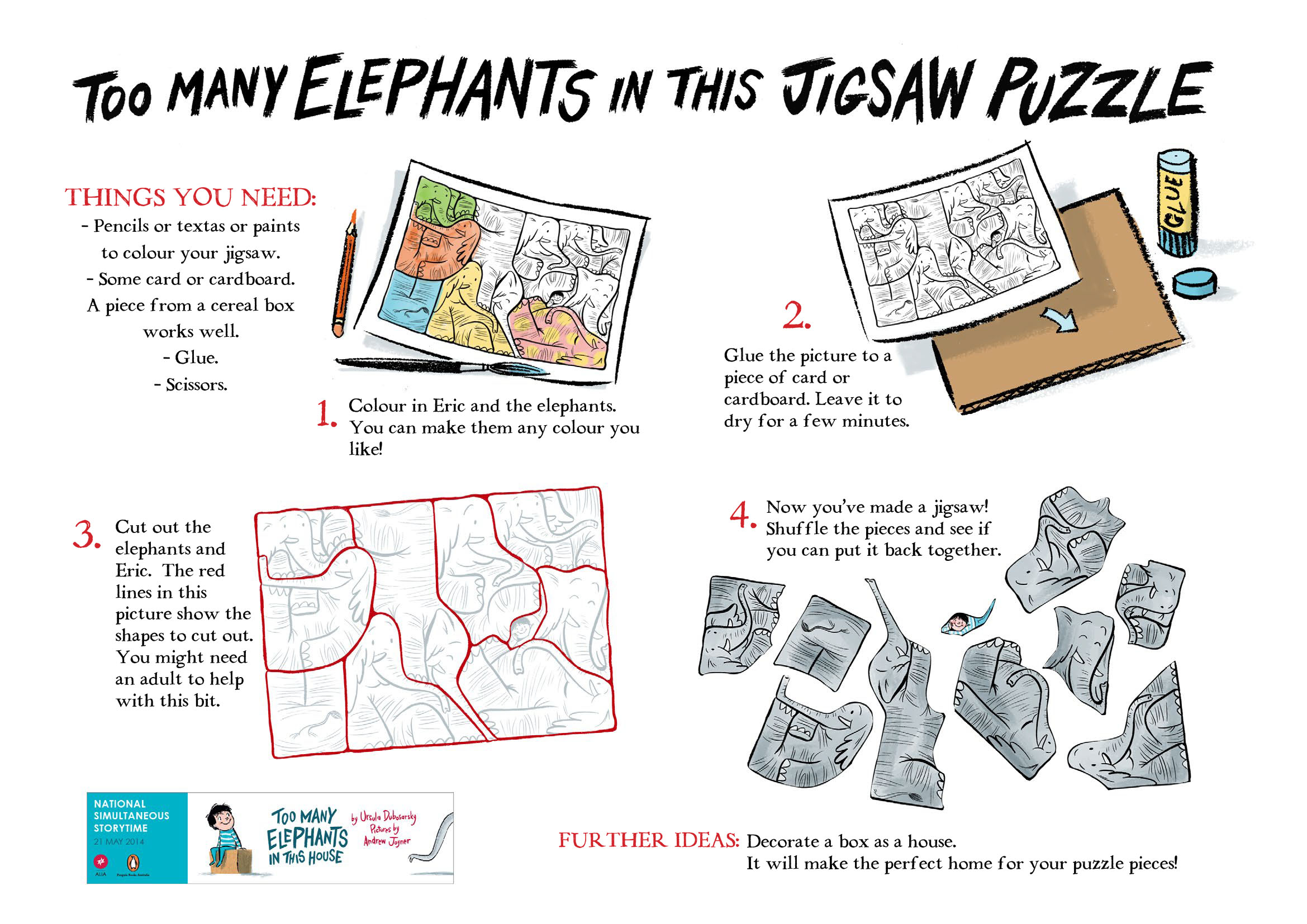 too many elephants in this jigsaw puzzle