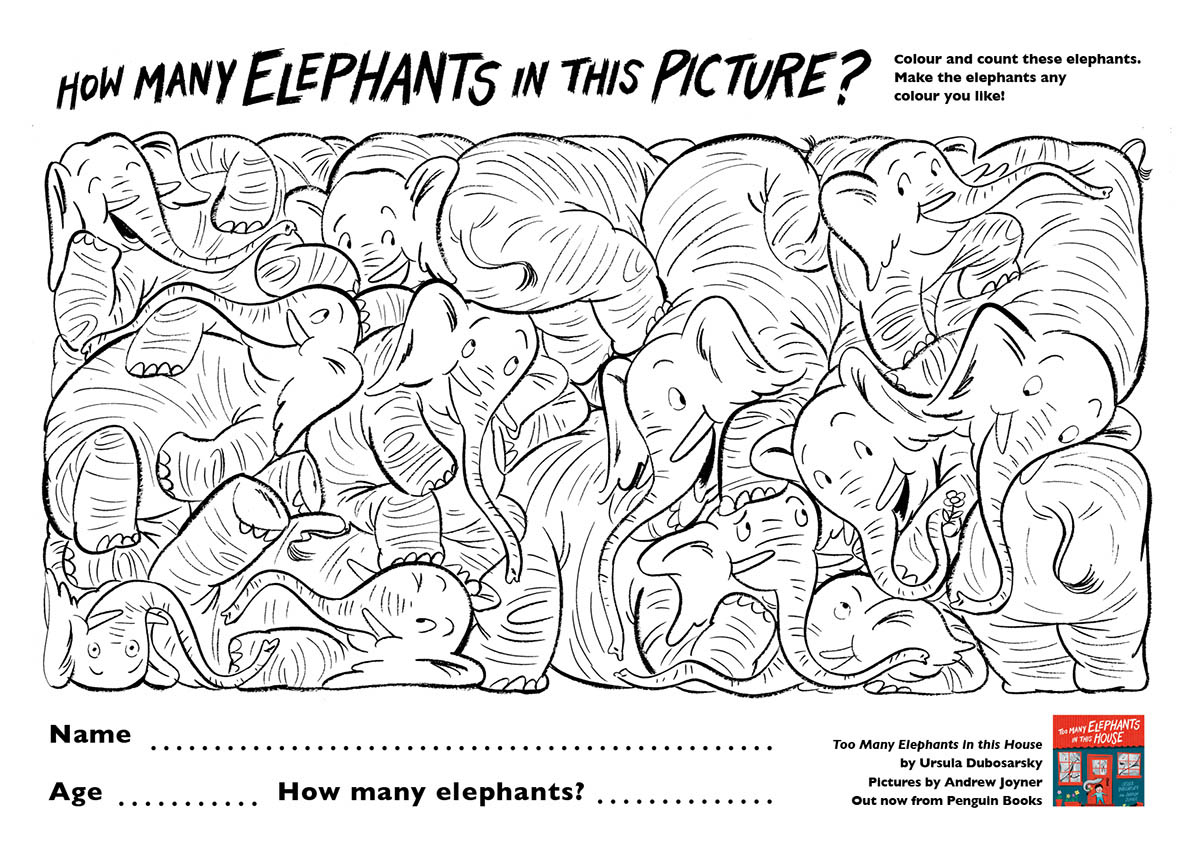 How many elephants in this picture?