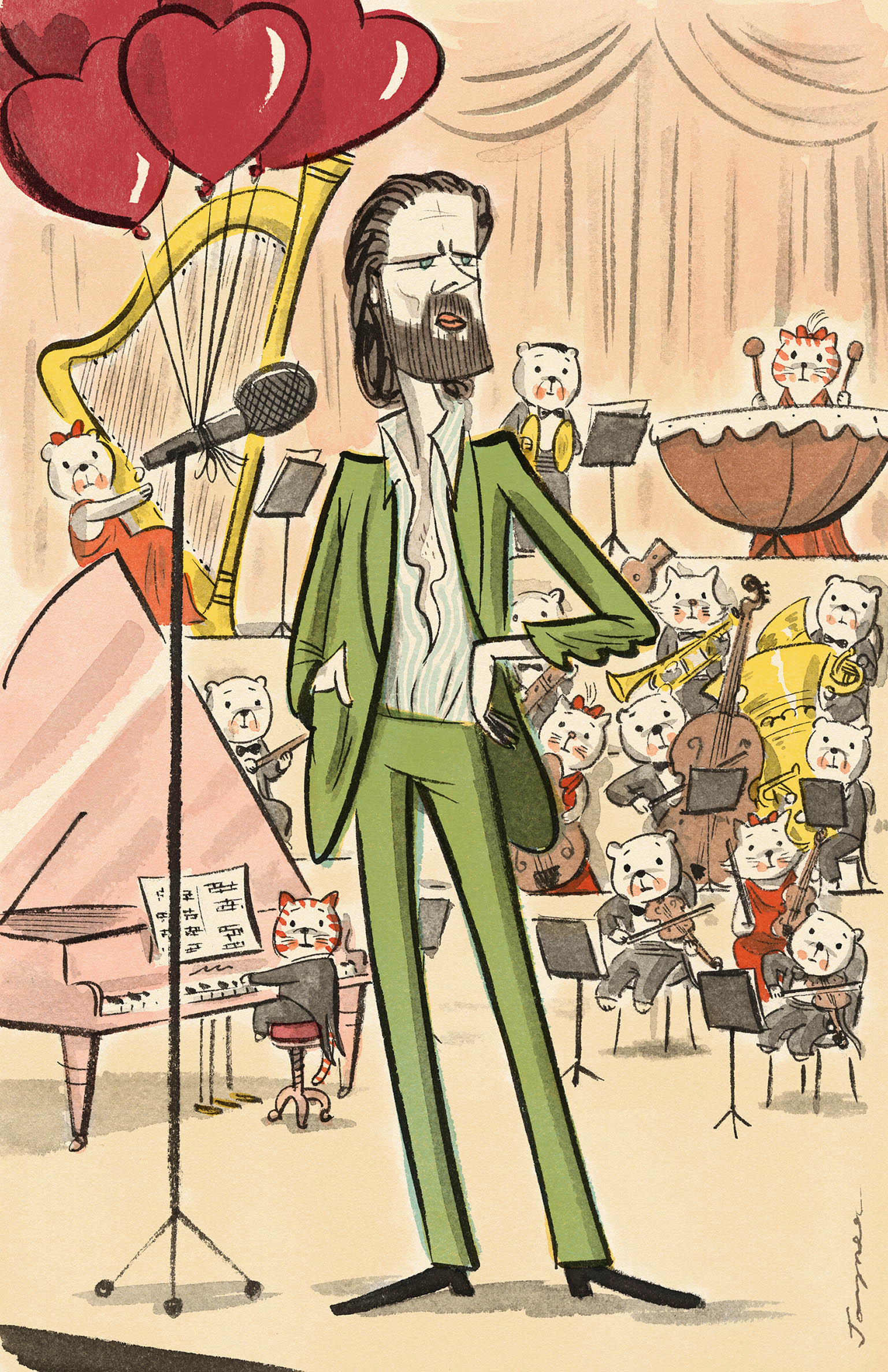 father john misty for  Rolling stone australia  march 2015.