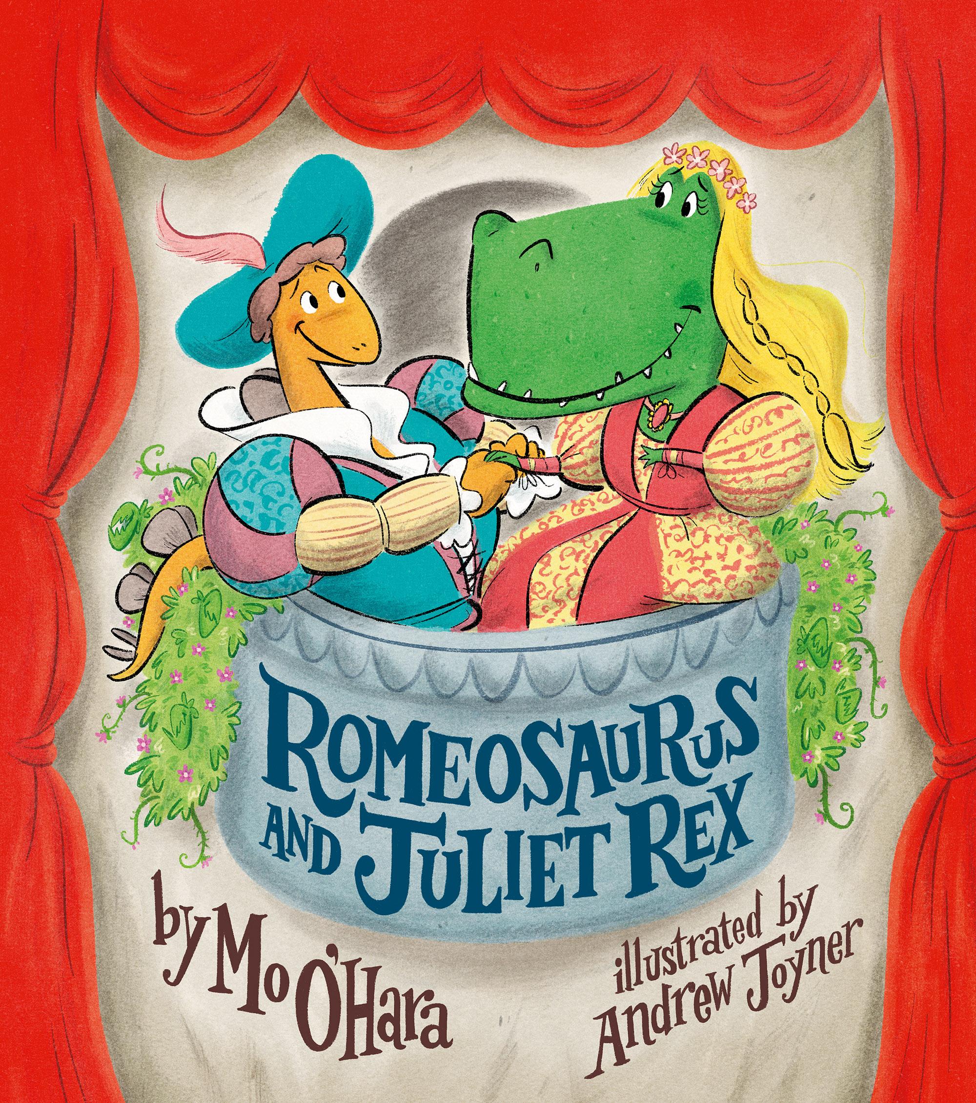 Romeosaurus and juliet rex  by mo o'hara
