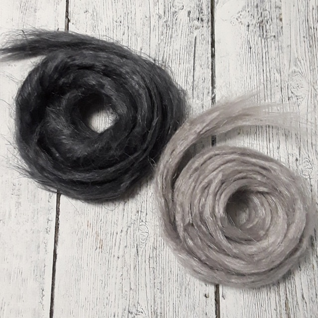 Effect Fibers - Flax, Ramie, Wool Nepps, and Pencil Roving can help to create all kinds of effects in wet or needle felting, art batts and yarns.