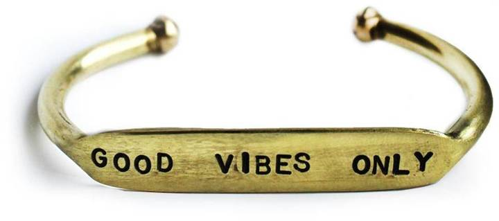 THE CURATED GIFT SHOP GOOD VIBES BRACELET