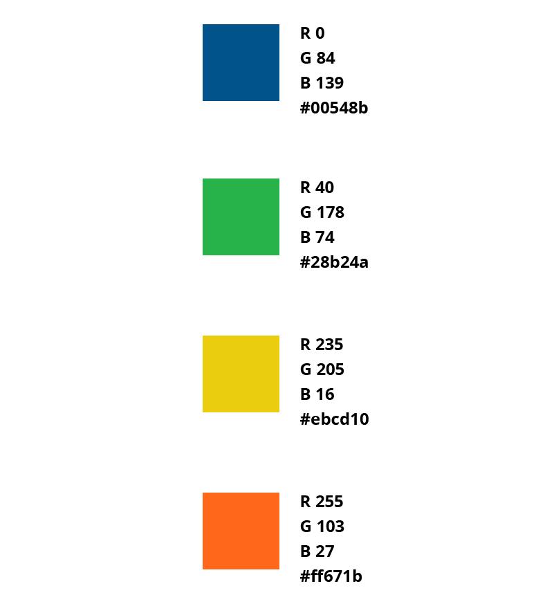 Enovation Parnters colors and Cleantech orange