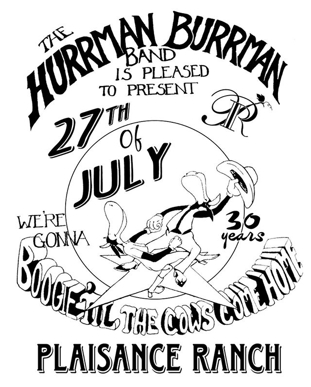 Ok Southern Oregon fans! The Herrman Burrman is back @plaisanceranch this next Saturday, July 27th get your tickets and come get a 30 year reunion band shirt!