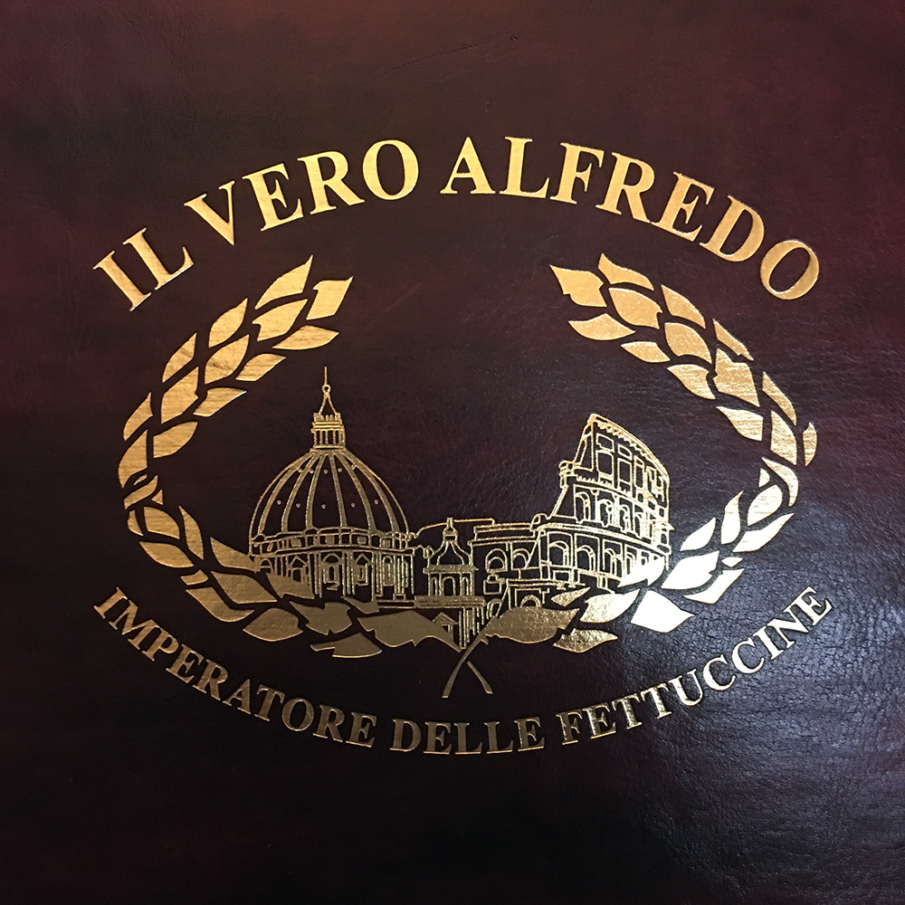 The birthplace of Fettuccini Alfredo