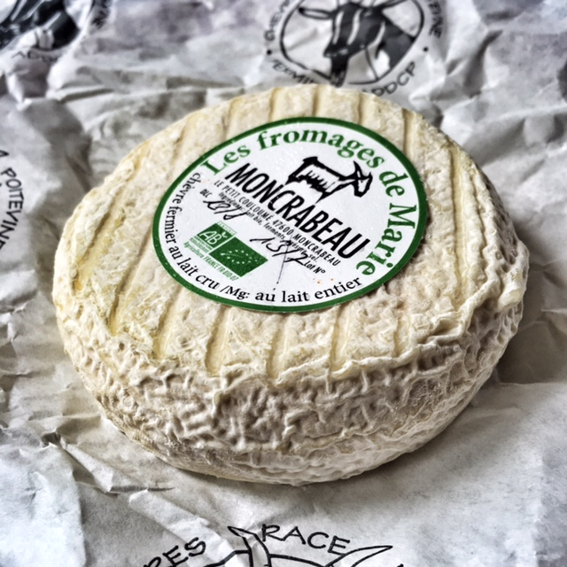 Goat cheese from the farmer just down the road.