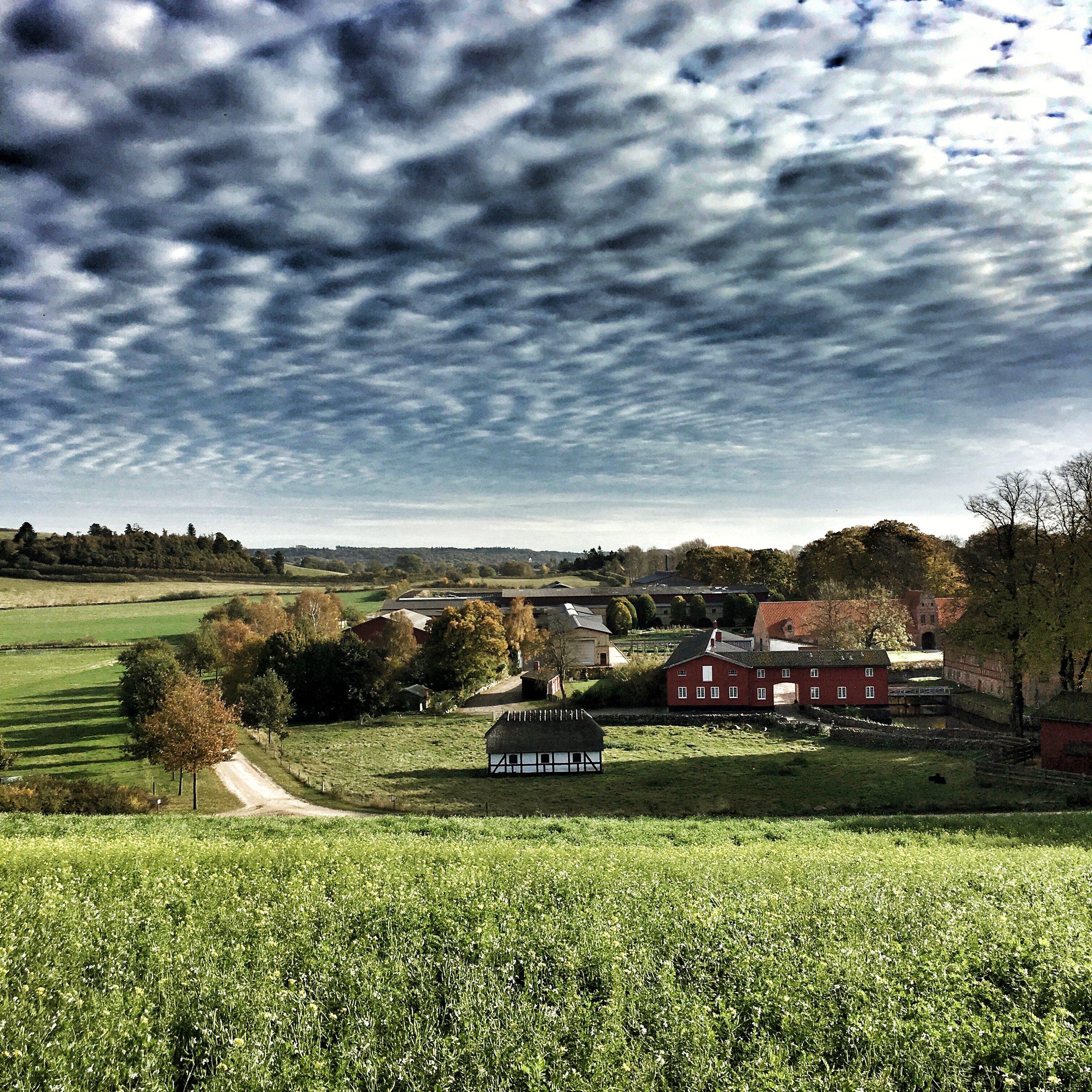 Steensgaard, an organic, self-sustainable farm on the island of Funen, Denmark.