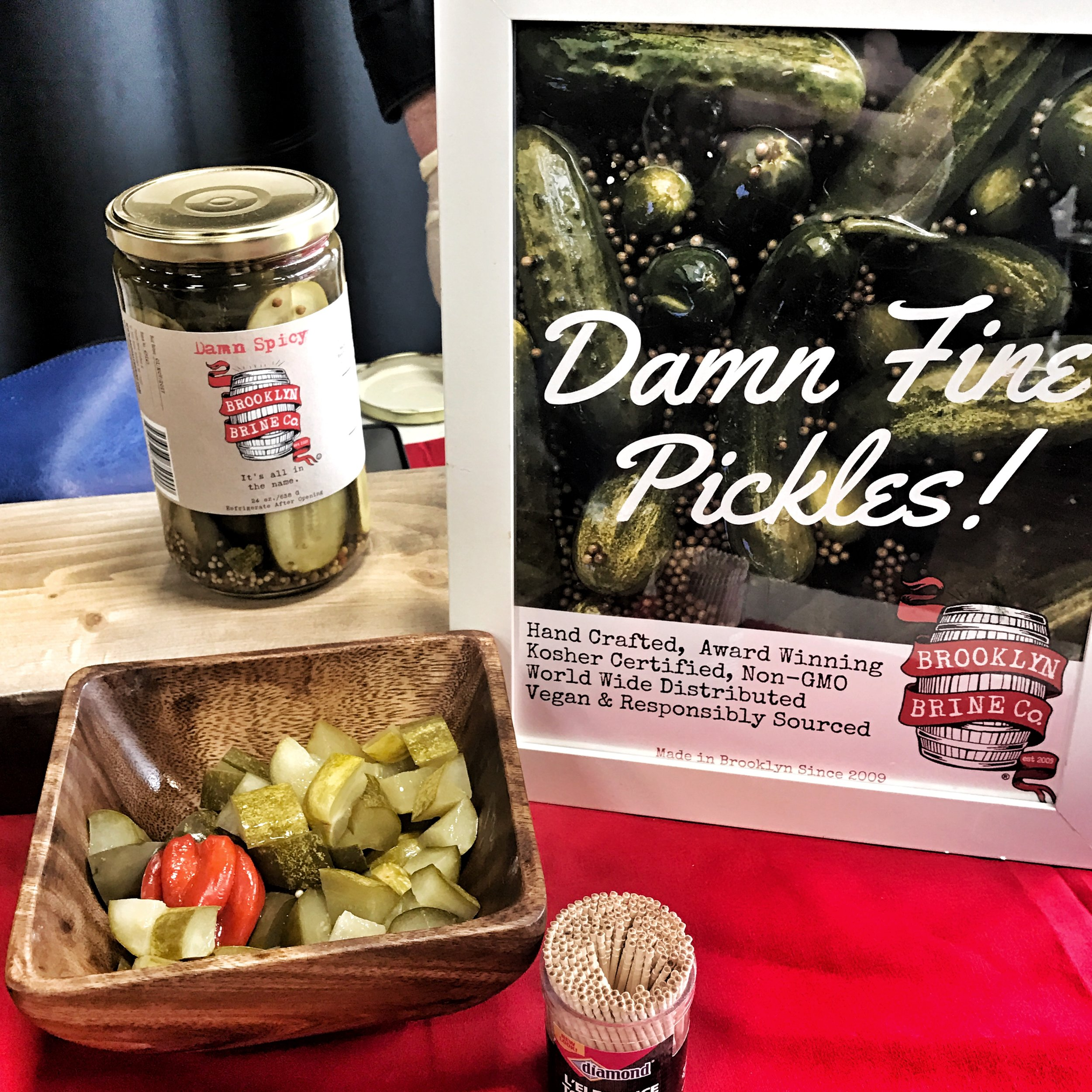Brooklyn Brine has the best pickles out there!