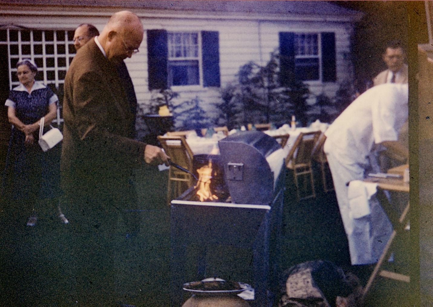 Looks like Ike liked fire too.