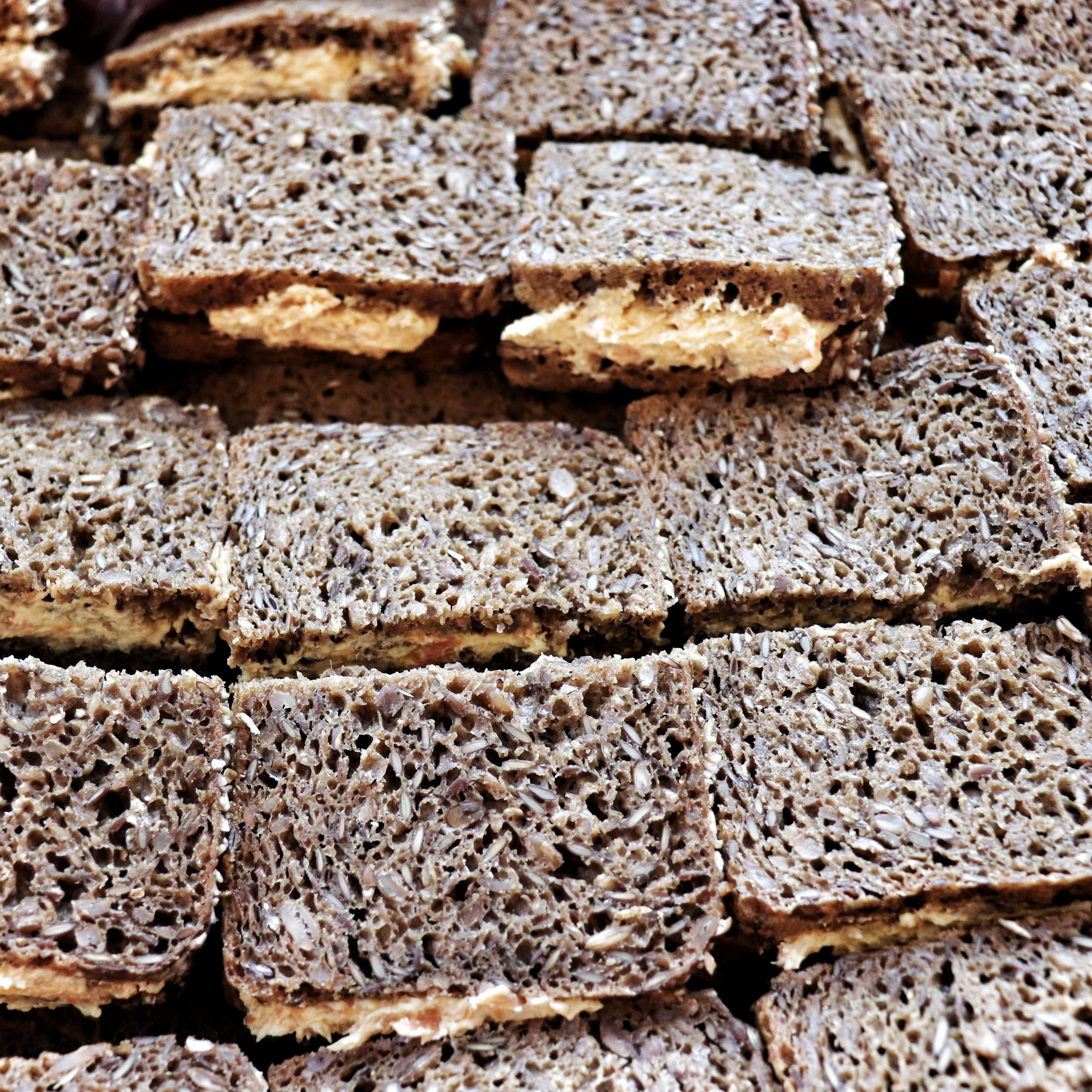 The Danes love their rye bread!
