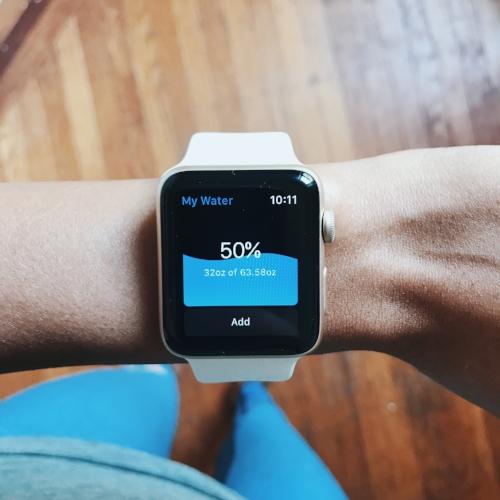 My water app apple watch series 2