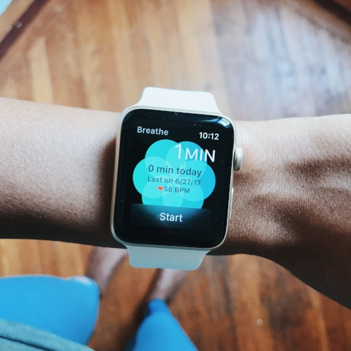 Apple watch series 2 breathe app