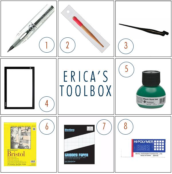 Erica's Calligraphy Toolbox