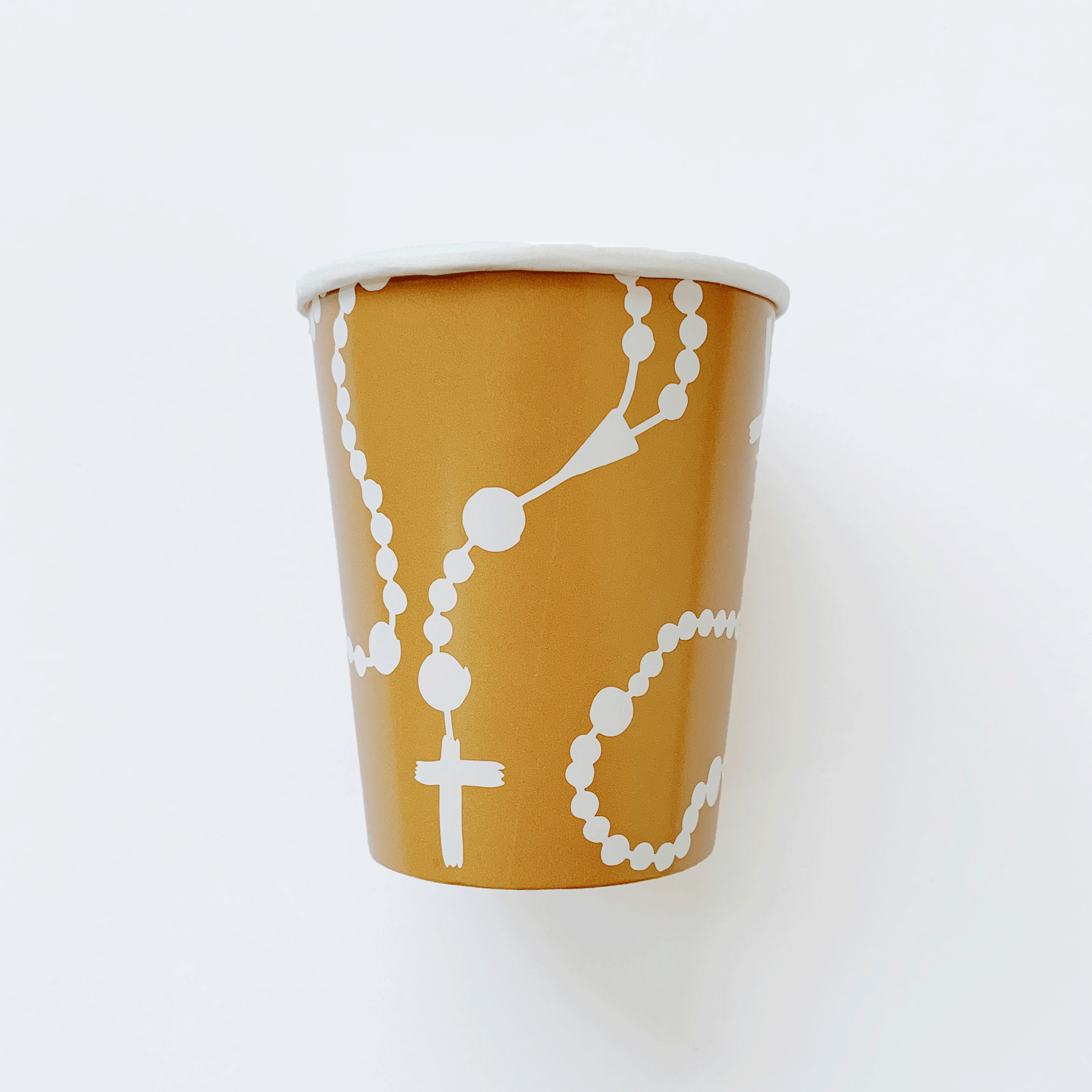 rosary paper cup