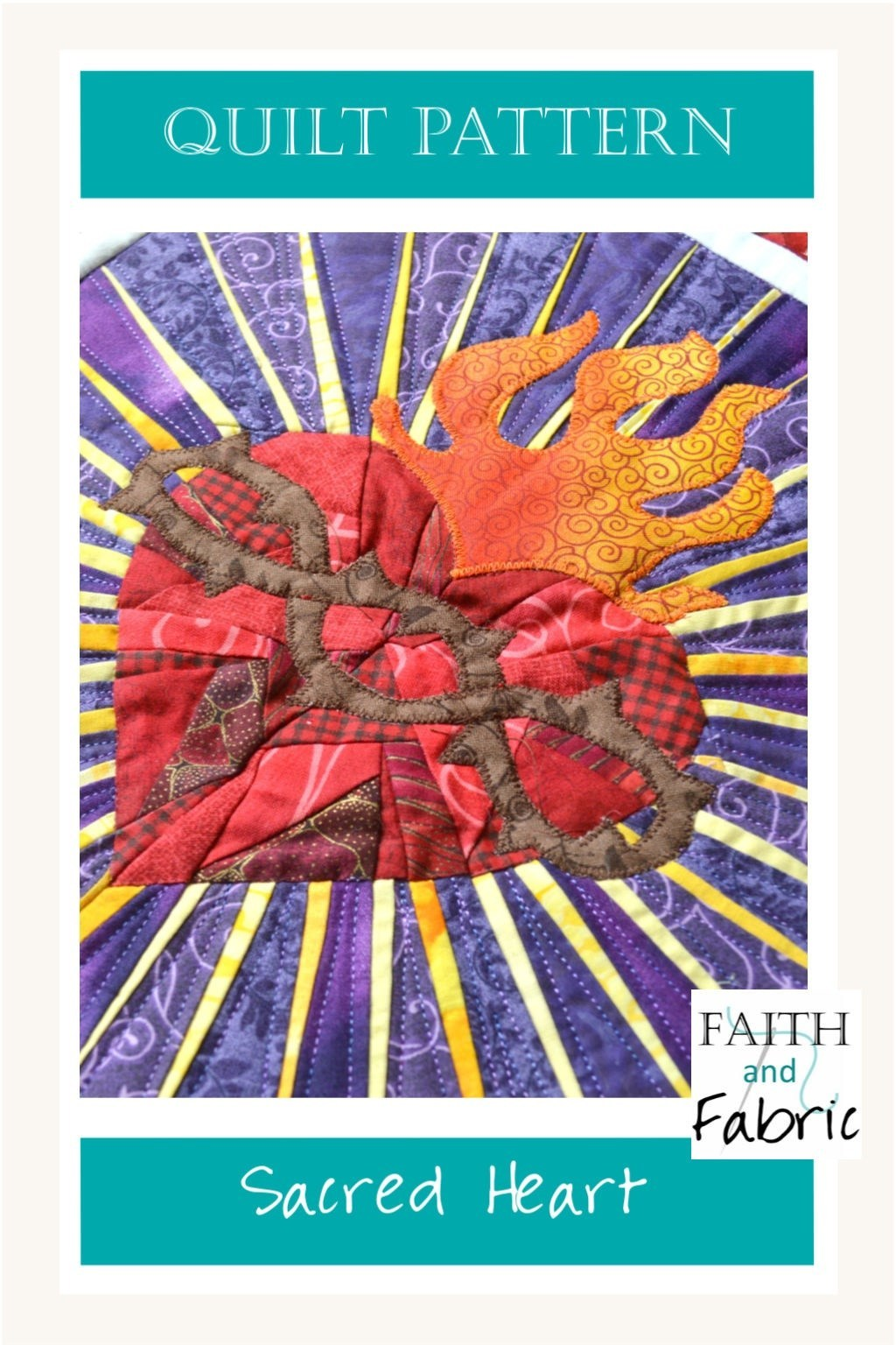 Faith and Fabric's Quilting Pattern - Read More