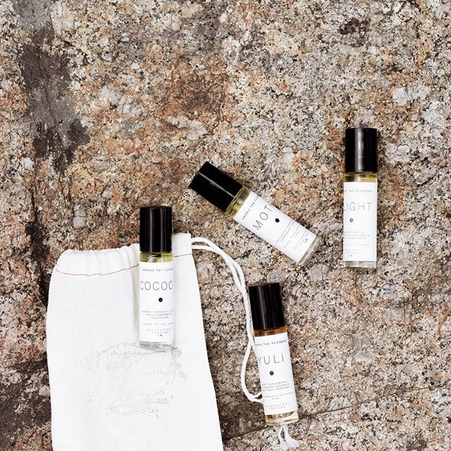 Each one of these delicate blends serves as a passage for memories, a pleasant and gentle addition to your physical presence, as well as a powerful reminder that beauty can be simple, unrefined and completely natural. . Moth, Cocoon, Flight, Yuli perfumes. 100% plant ingredients.