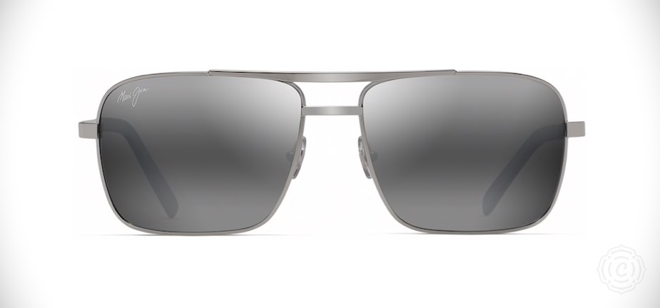 Maui Jim Compass   Maui Jim is known for their high quality industry leading polarized lenses and it is the only brand I trust for overall eye health. The Compass sunglasses are a classic aviator style with a modern twist. Featuring polarized lens, they're a perfect and comfortable fit.