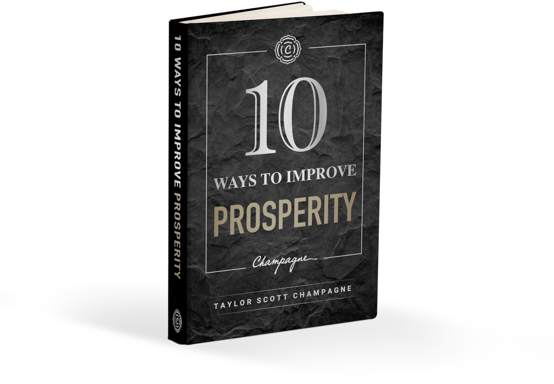 10 Ways To Improve Prosperity Book