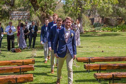 Wedding Bench Hire: Janae & Nathanael's Wedding -Photography by  John Adams