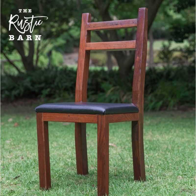 RECLAIMED | RESTORED | RE-PURPOSED  Old Jarrah Floor Joists given new life as Elegant Wedding Chair Hire
