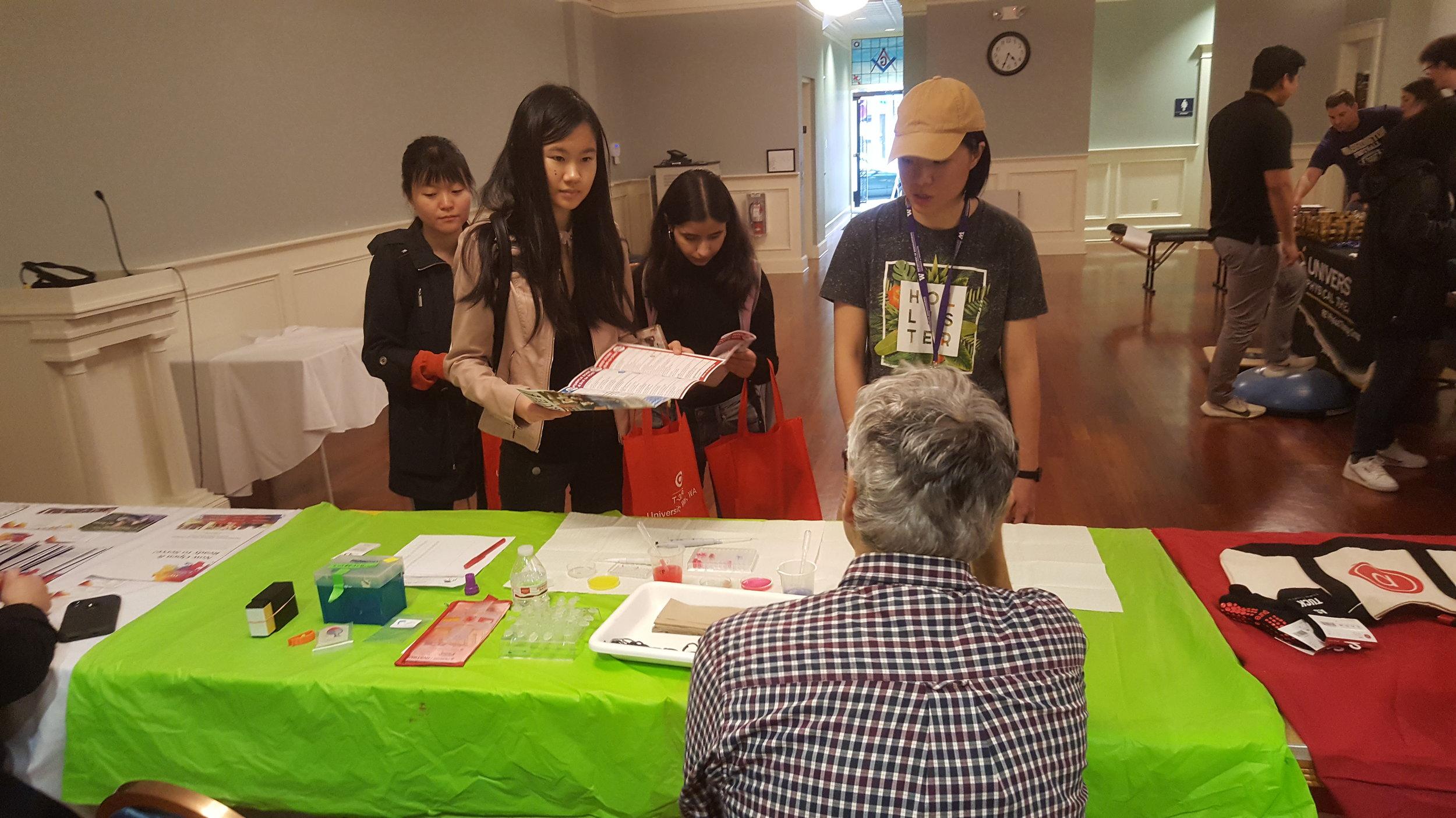 Dr. Sauro explains SoundBio's mission to new students.