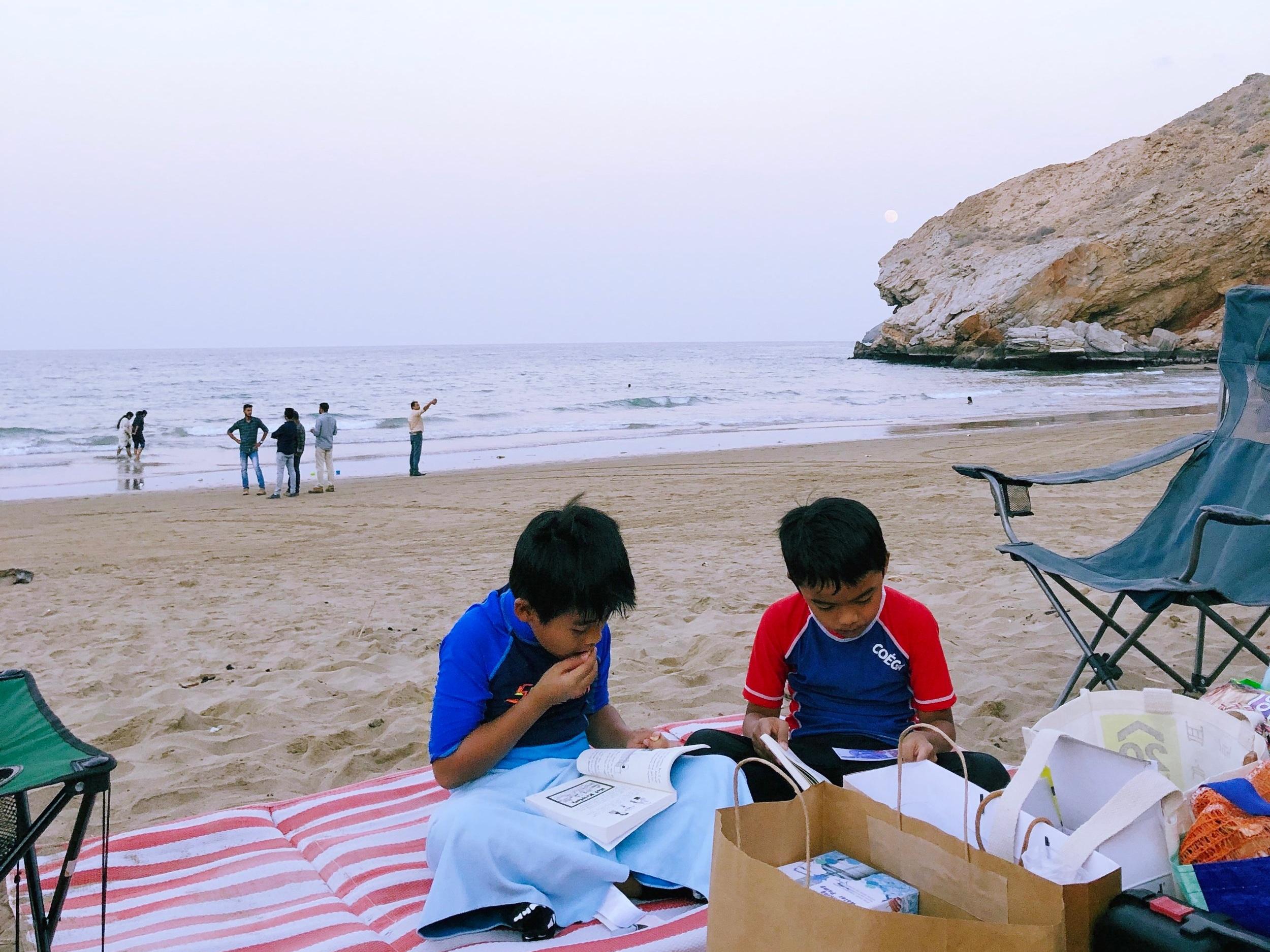 Yiti Beach, 22nd November 2018.