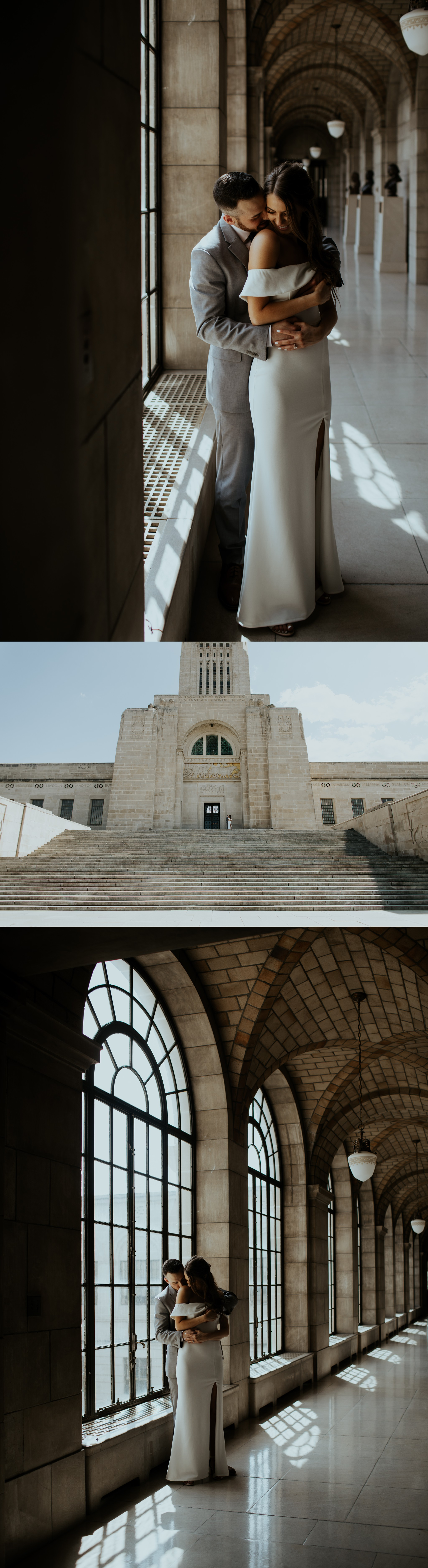 Spring Nebraska State Capitol Engagement Session - Gabby and Michael - Trin Jensen Photography_0005.jpg