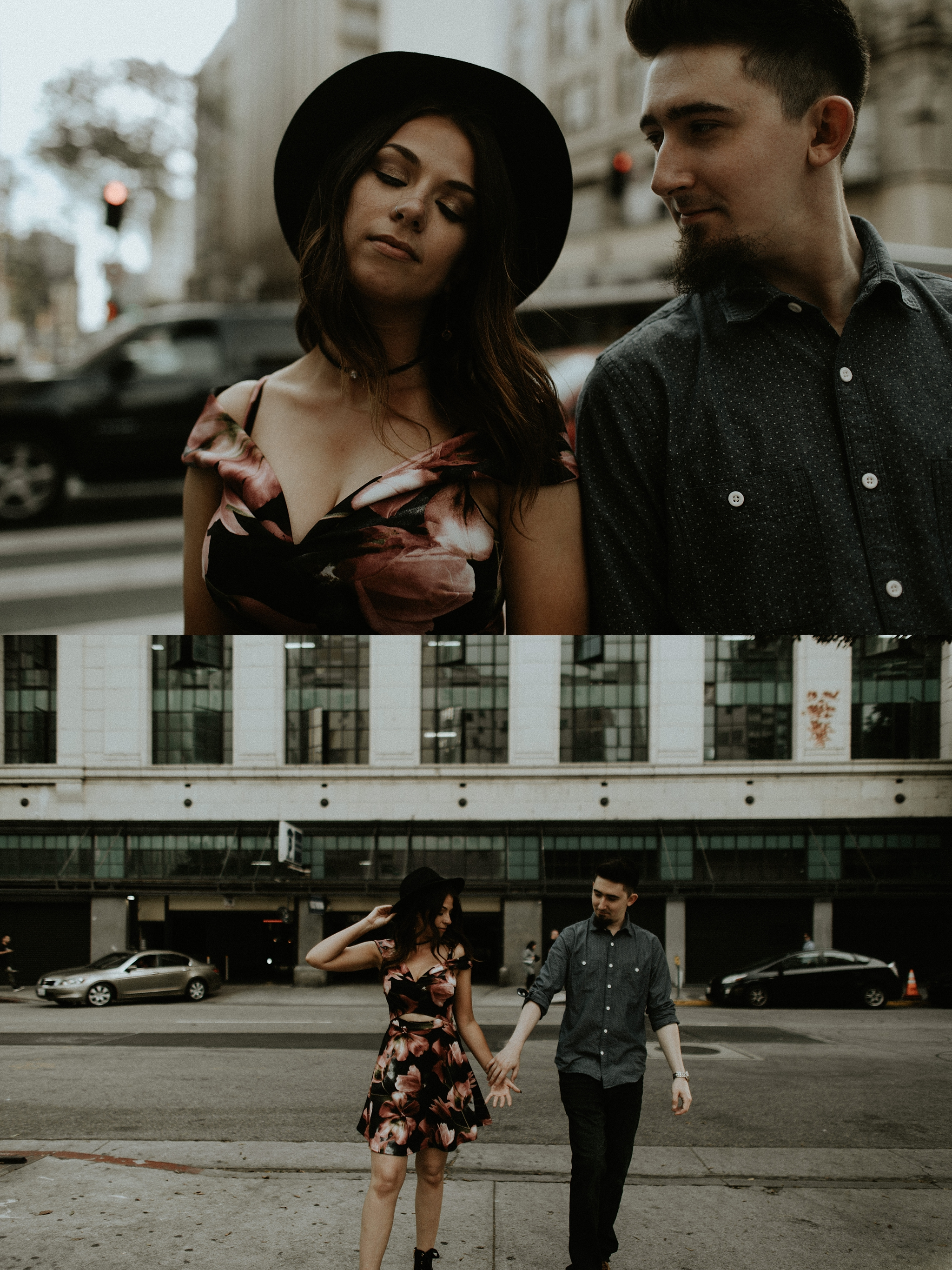 trinjensen photography, DTLA Engagement Session in Los Angeles, Southern California_0007.jpg
