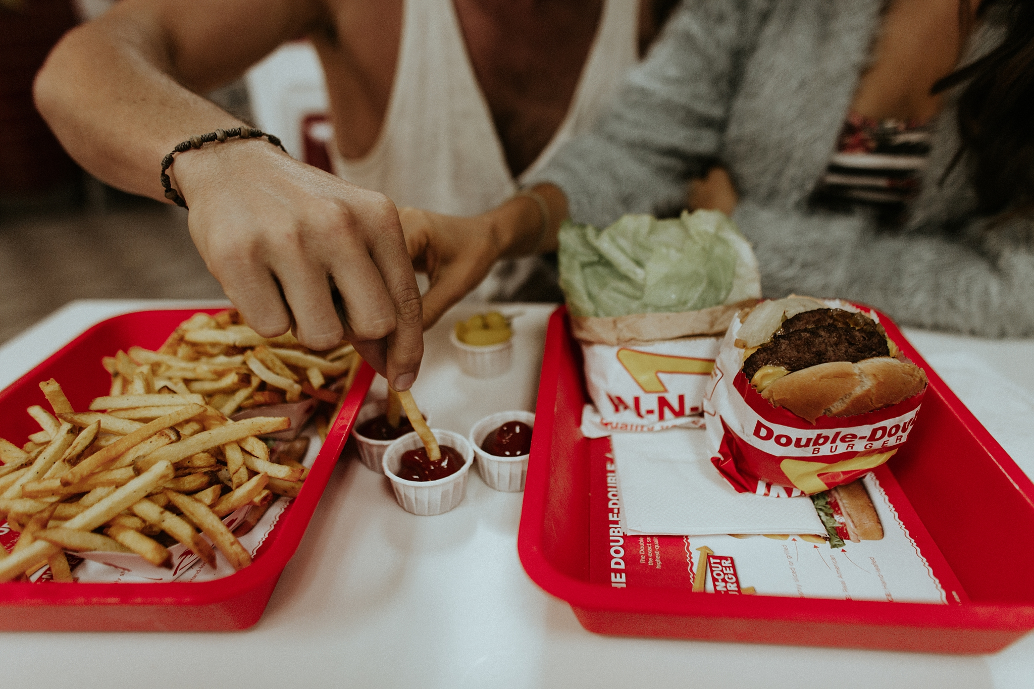 Britt from the Bachelor Engagement Session at In N Out Burger in San Diego California by Trin Jensen Photography_0017.jpg