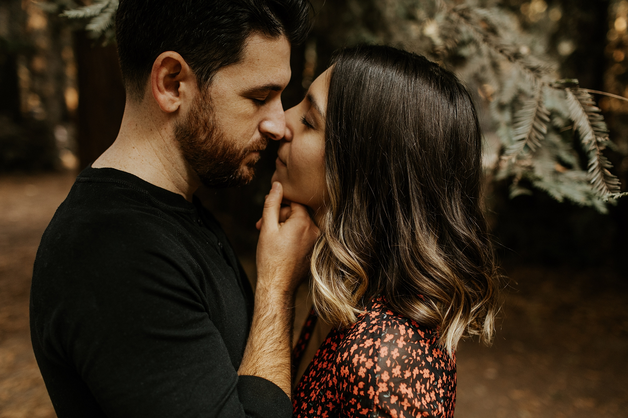 Fall Bohemian Big Sur California Engagement Session by Trin Jensen Photography_0004.jpg