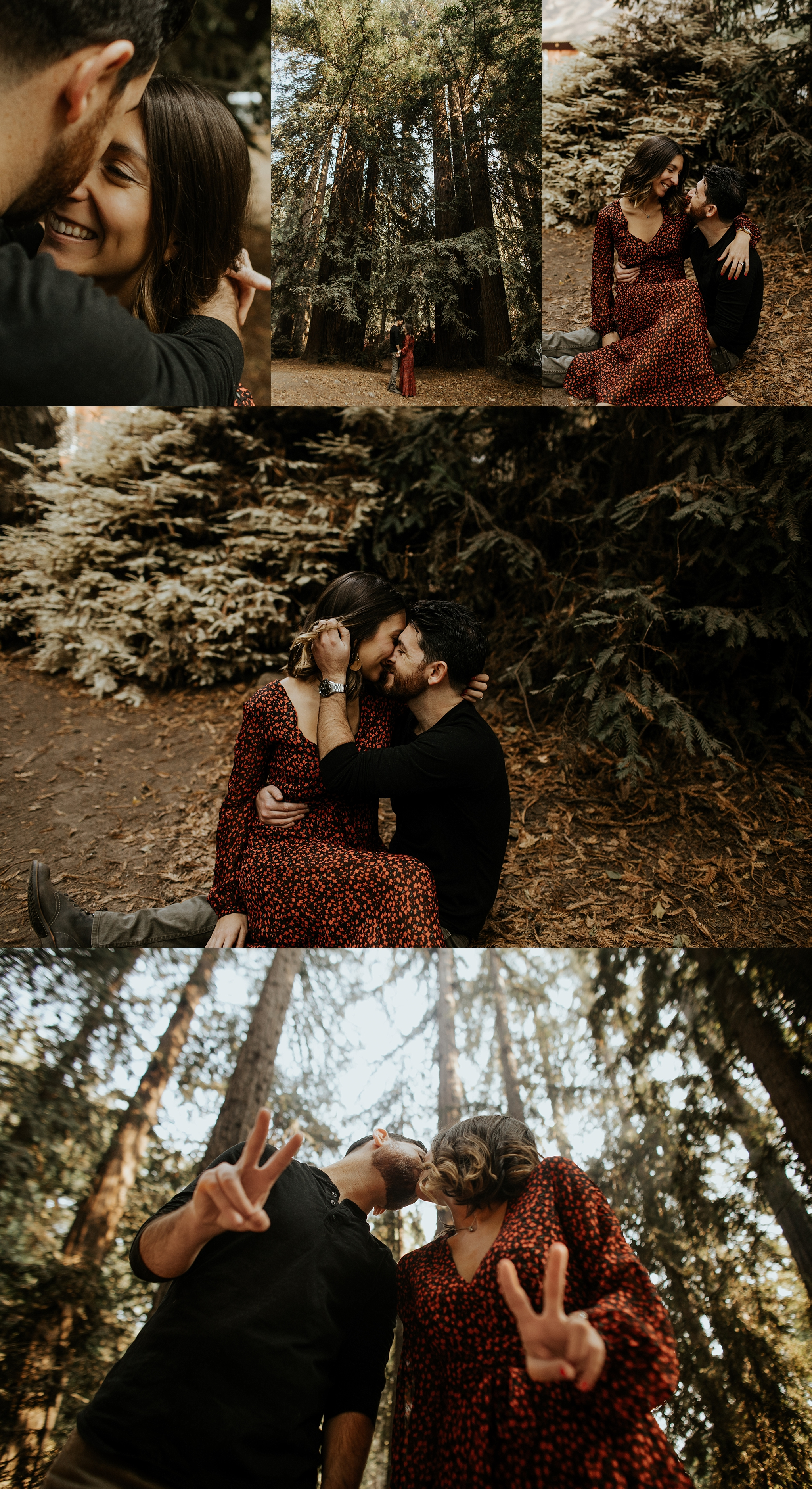 Fall Bohemian Big Sur California Engagement Session by Trin Jensen Photography_0003.jpg