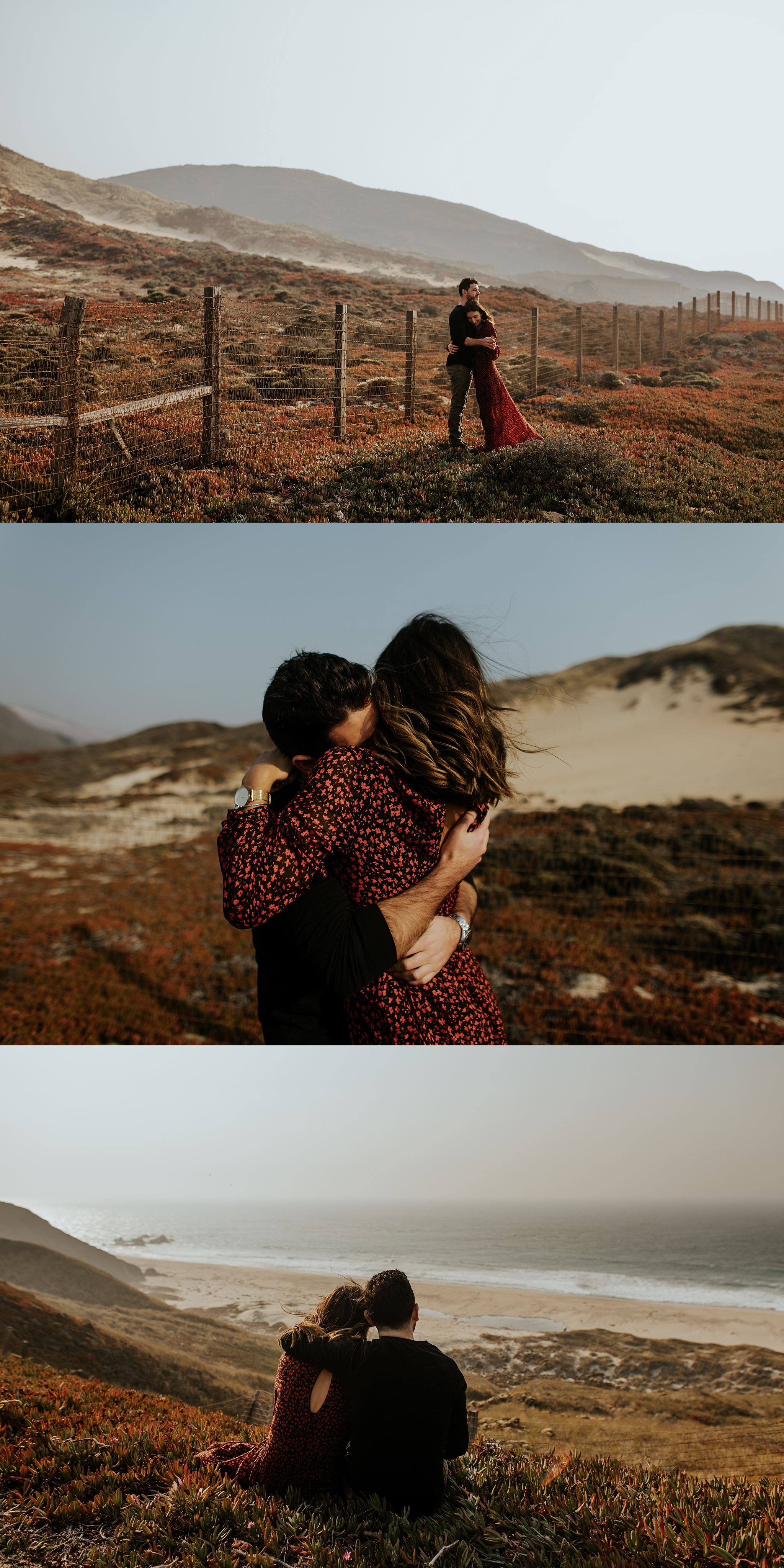 Fall Bohemian Big Sur California Engagement Session by Trin Jensen Photography_0007.jpg