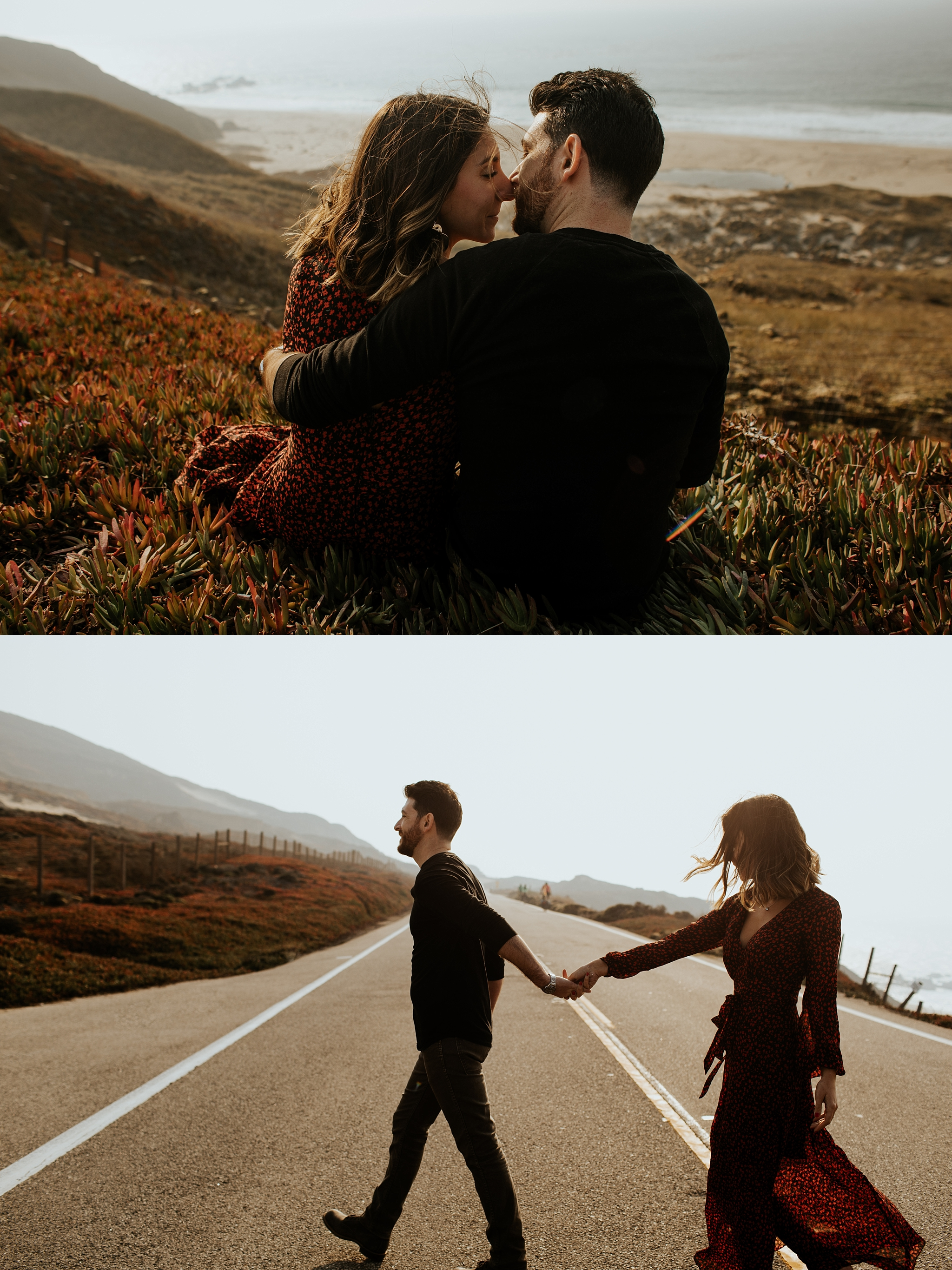 Fall Bohemian Big Sur California Engagement Session by Trin Jensen Photography_0008.jpg